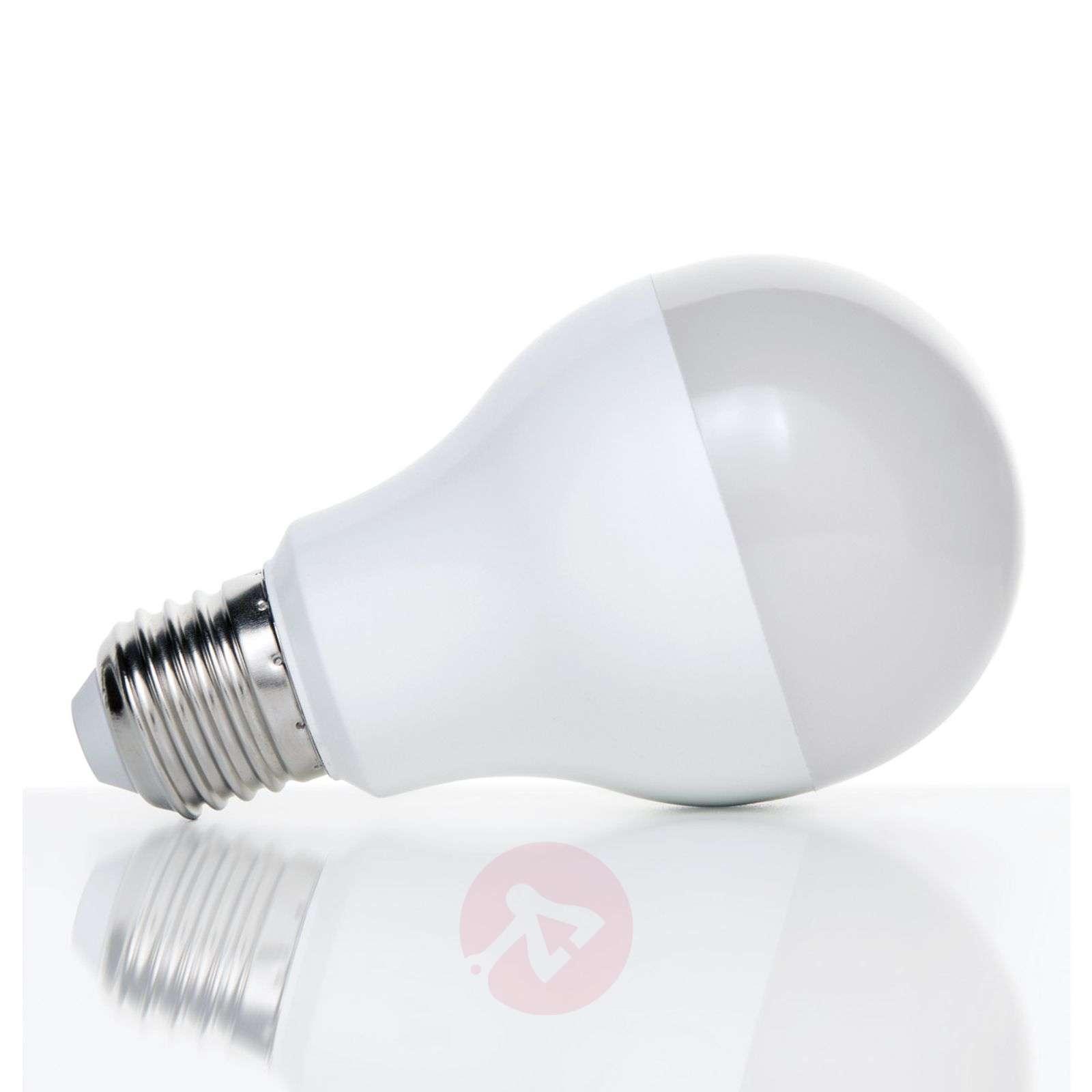 E27 15W 827 LED light bulb, opal-7255110-02