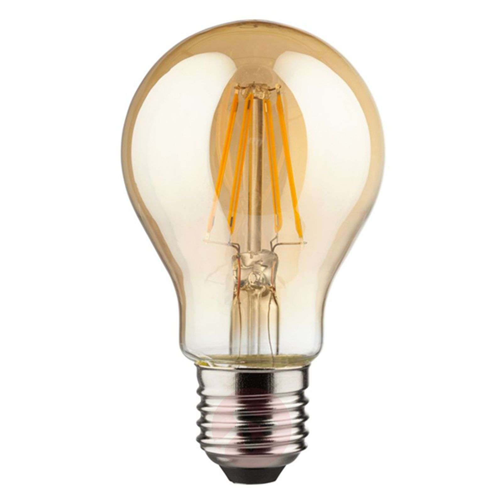 E27 4 W 820 LED filament bulb, gold-6520233-01