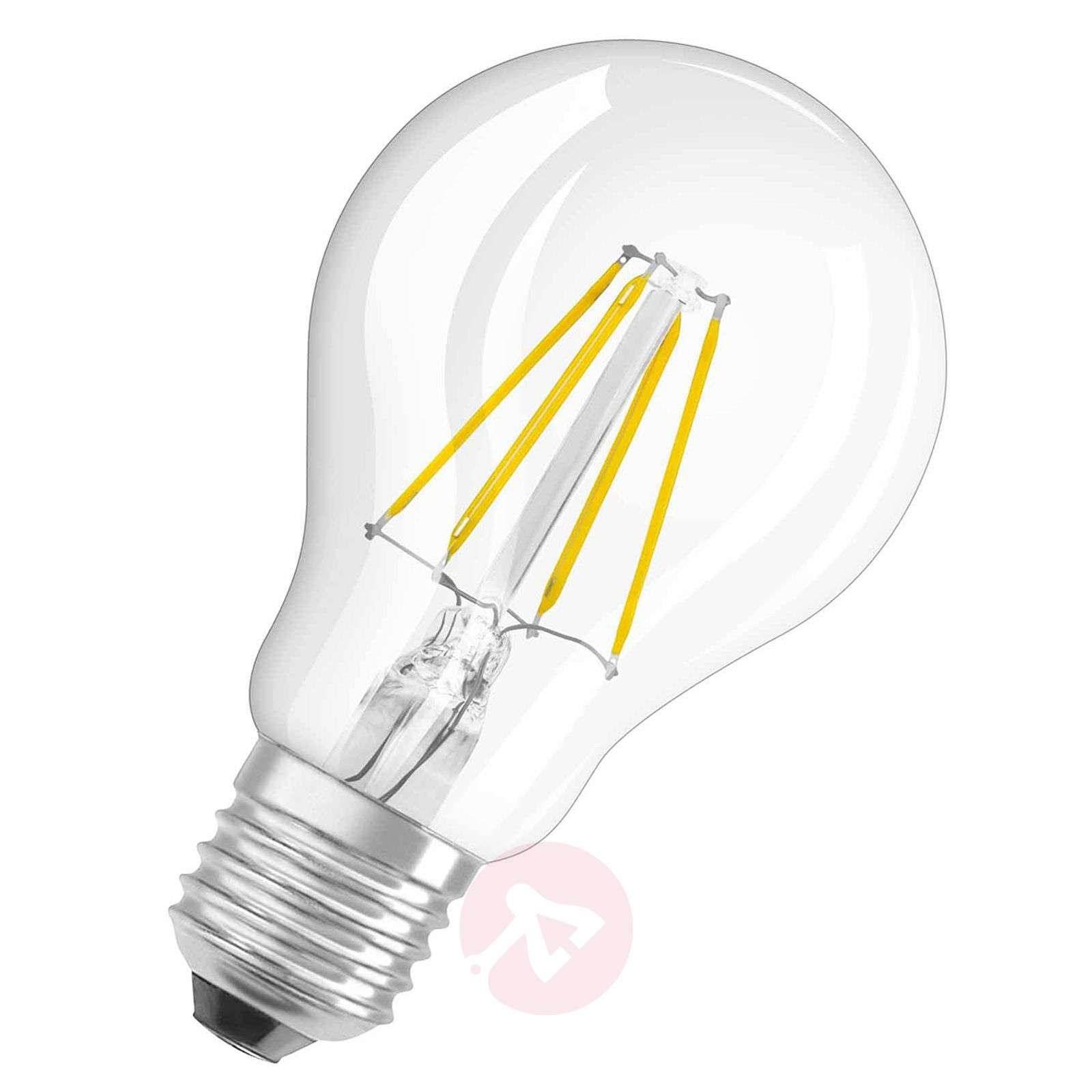 E27 4 W 827 LED retrofit filament bulb clear-7260853-01