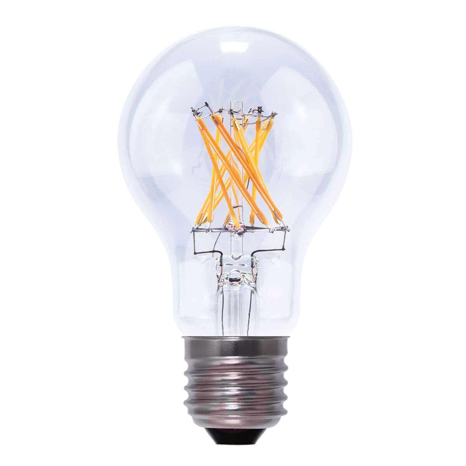 E27 5.5 W 826 LED lamp, transparent-8536053-02
