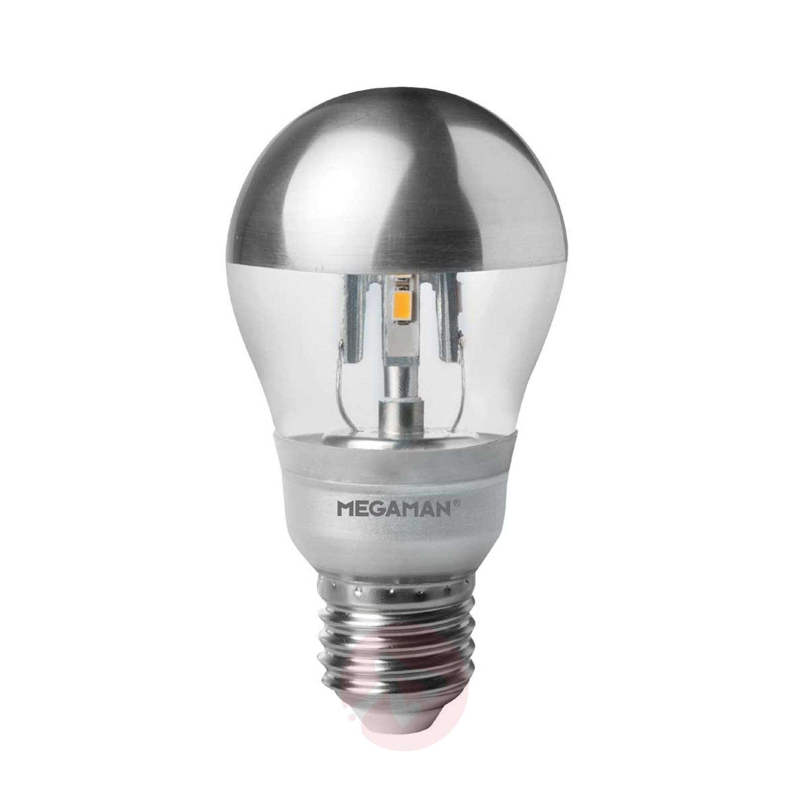 E27 5W LED mirror bulb silver, dimmable 2,800 K-6530126-01