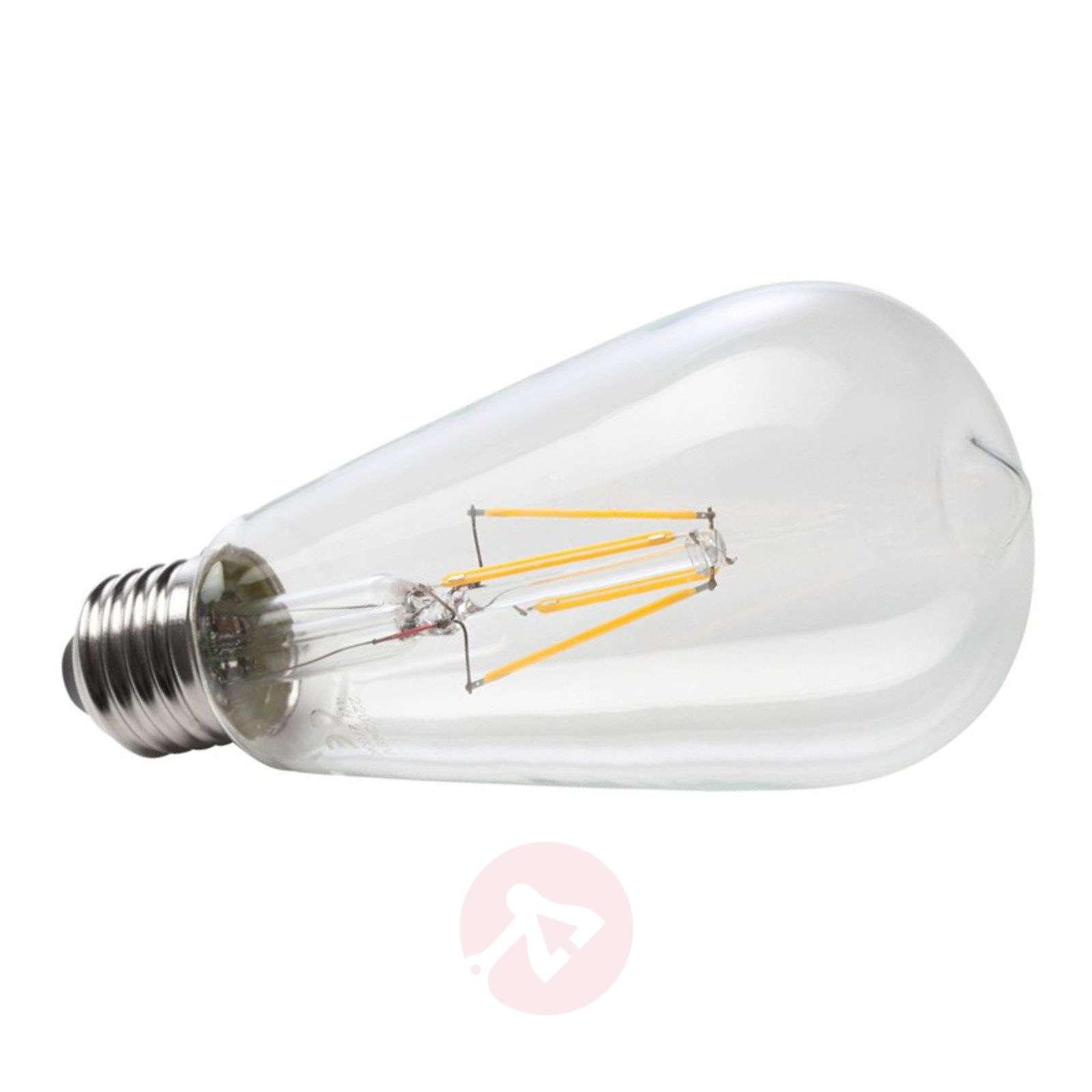 E27 6W 827 LED rustical filament bulb-6520240-01