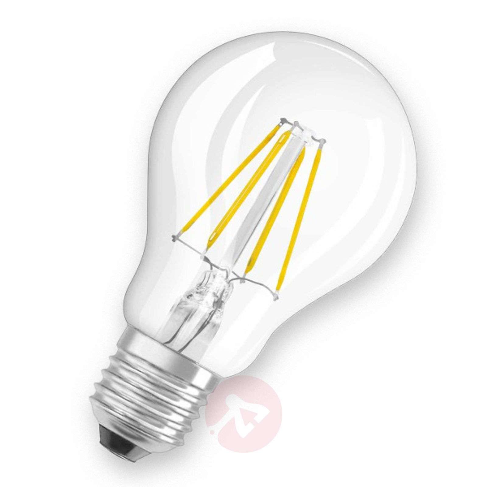 E27 7W 827 LED bulb, clear-7260820-01