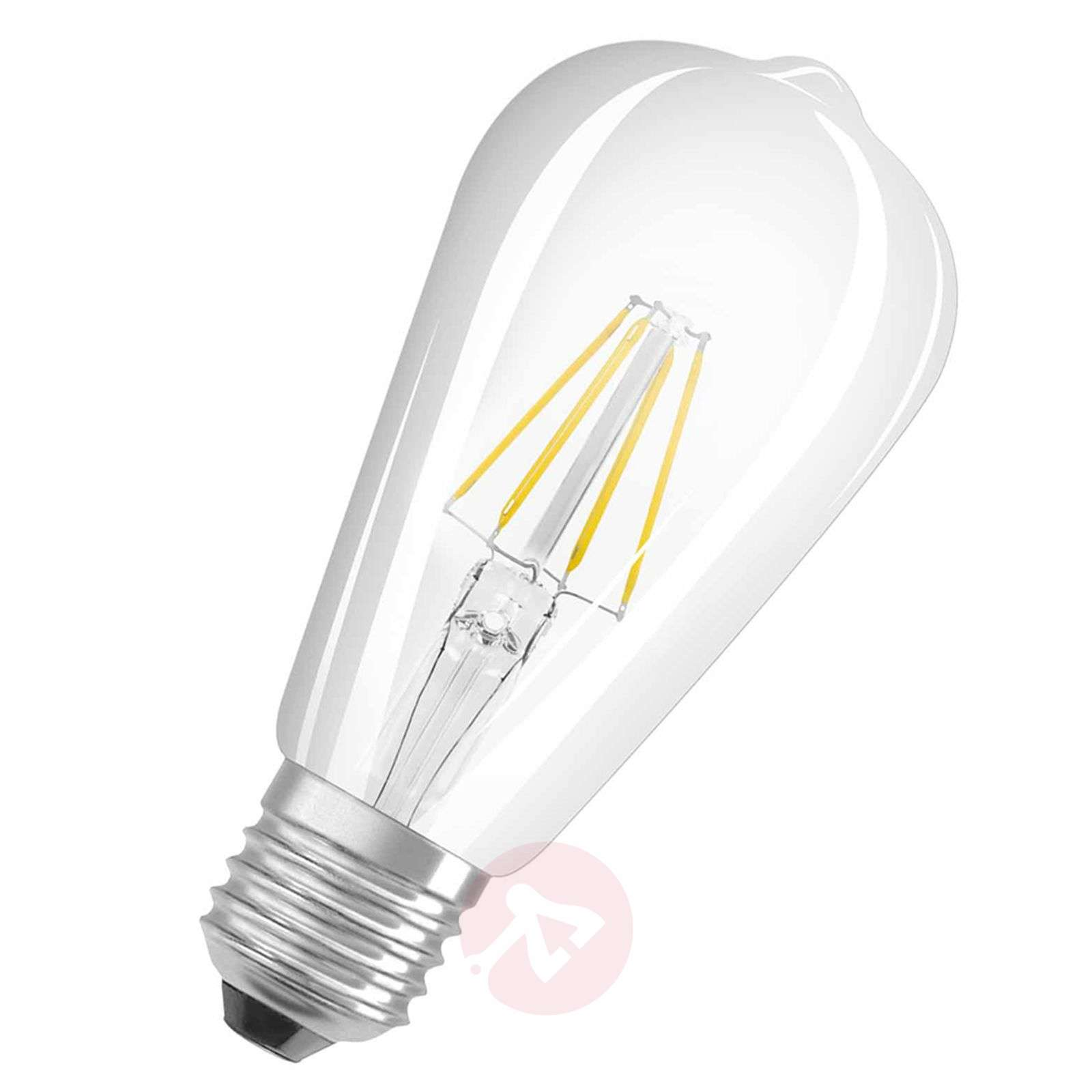 E27 7 W 827 retrofit LED rustic bulb clear-7260861-01