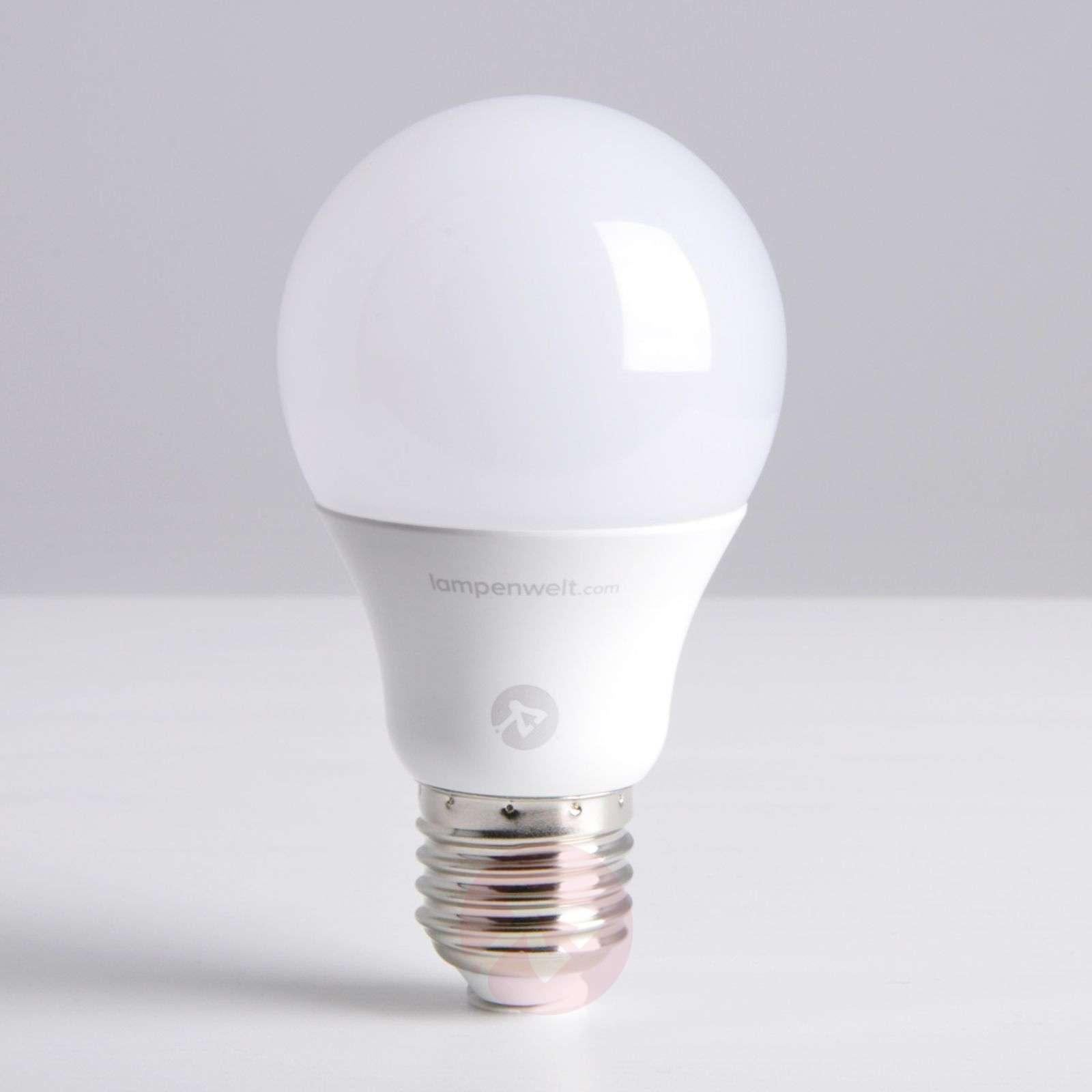E27 8.6W 827 LED bulb, matt, dimmable-9645003-03