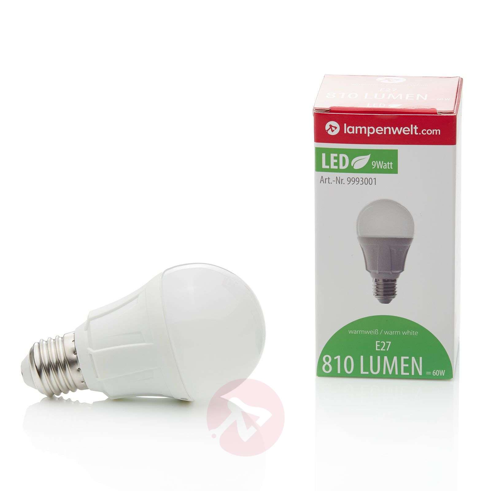 E27 9 W 830 LED Light Filament Bulb Design-9993001-02