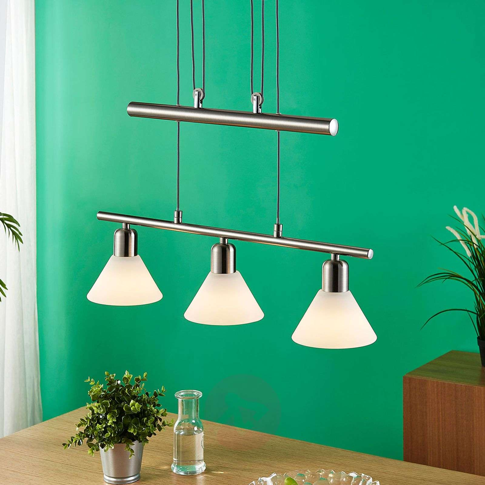 Easydim dining table pendant light Eleasa with LED-9621384-02