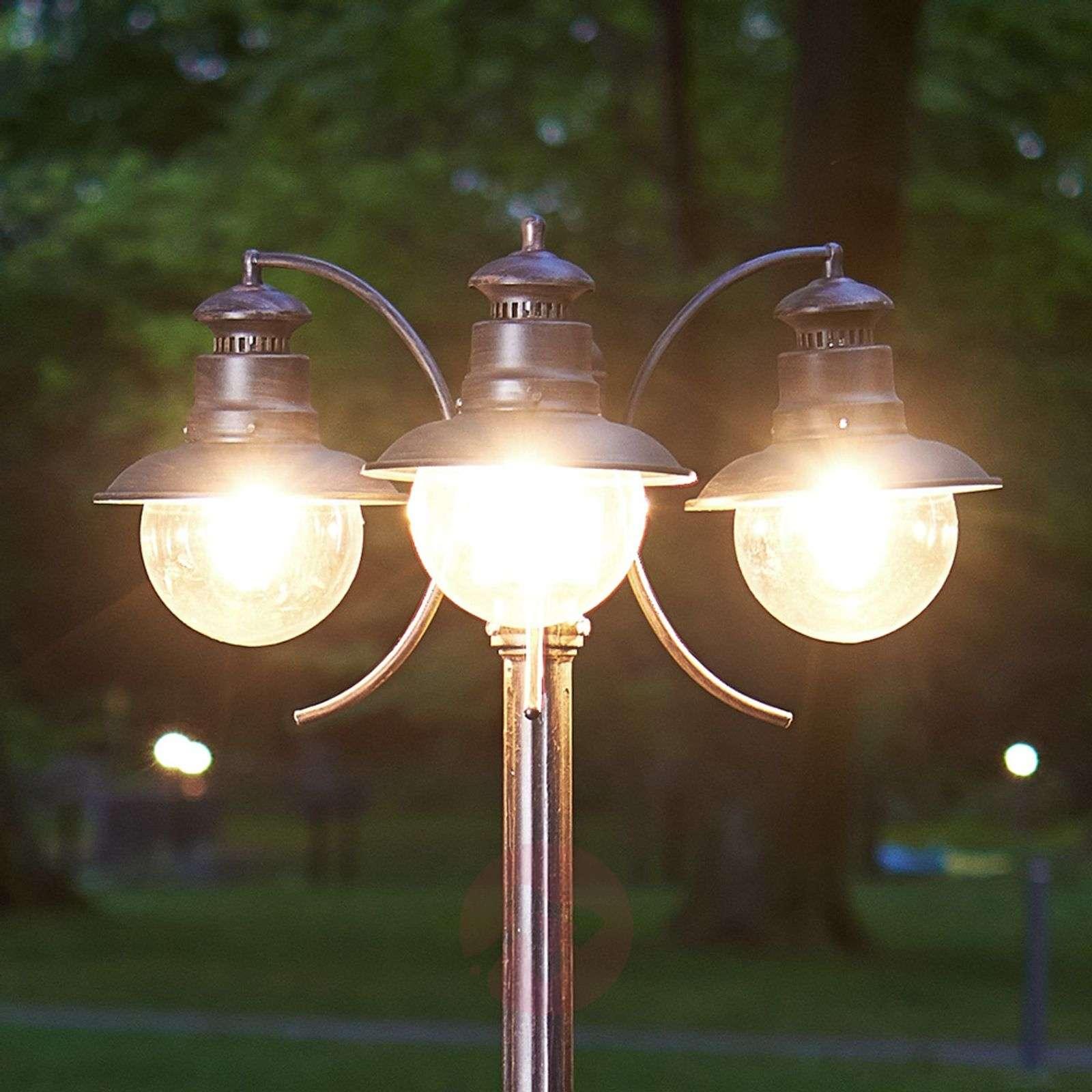 Eddie three bulb post light ip44 lights eddie three bulb post light ip44 9630004 01 aloadofball Choice Image