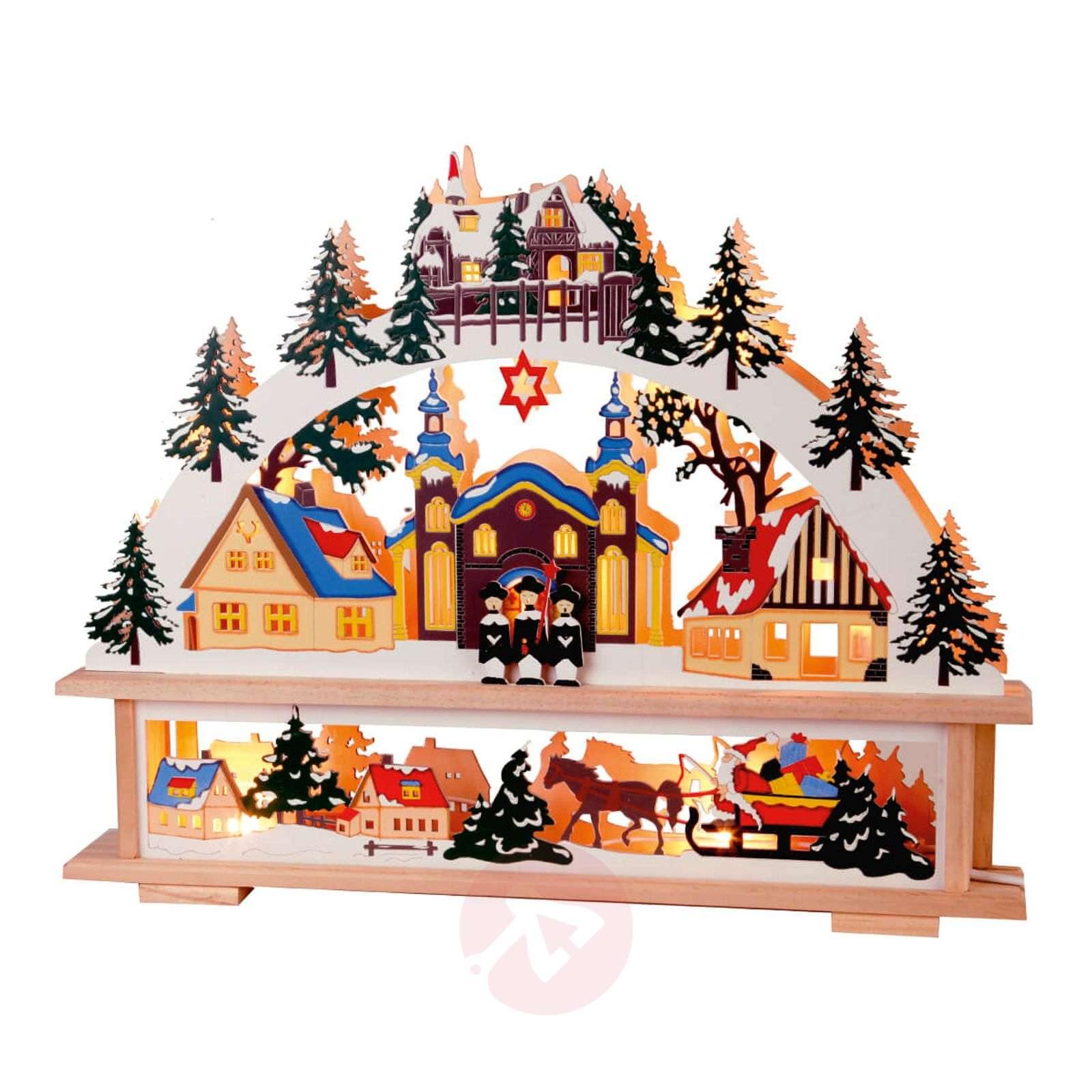 Elaborately designed candle arch Straubing-1523321-01