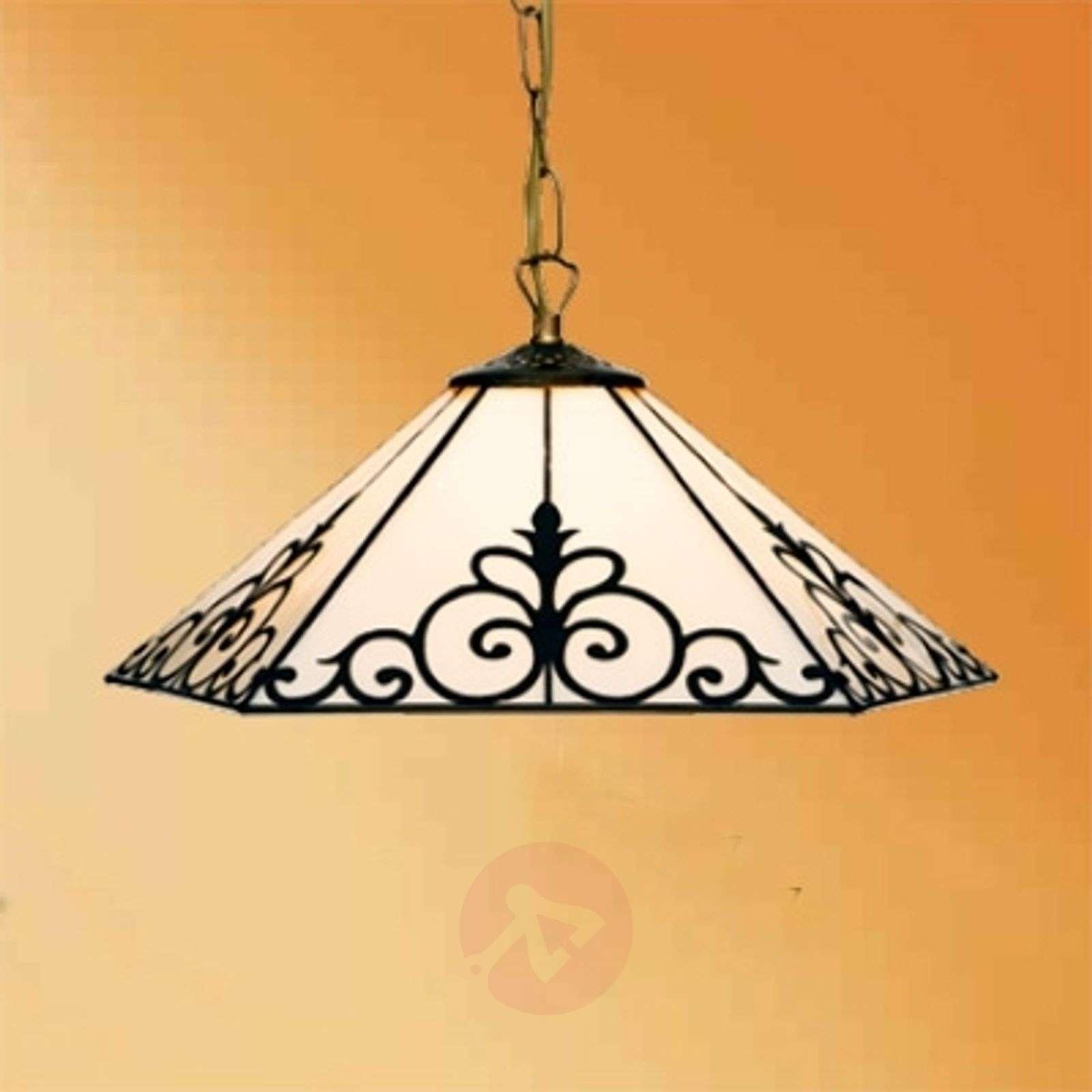 Elegant hanging light Janett, 36 cm-1032308-01