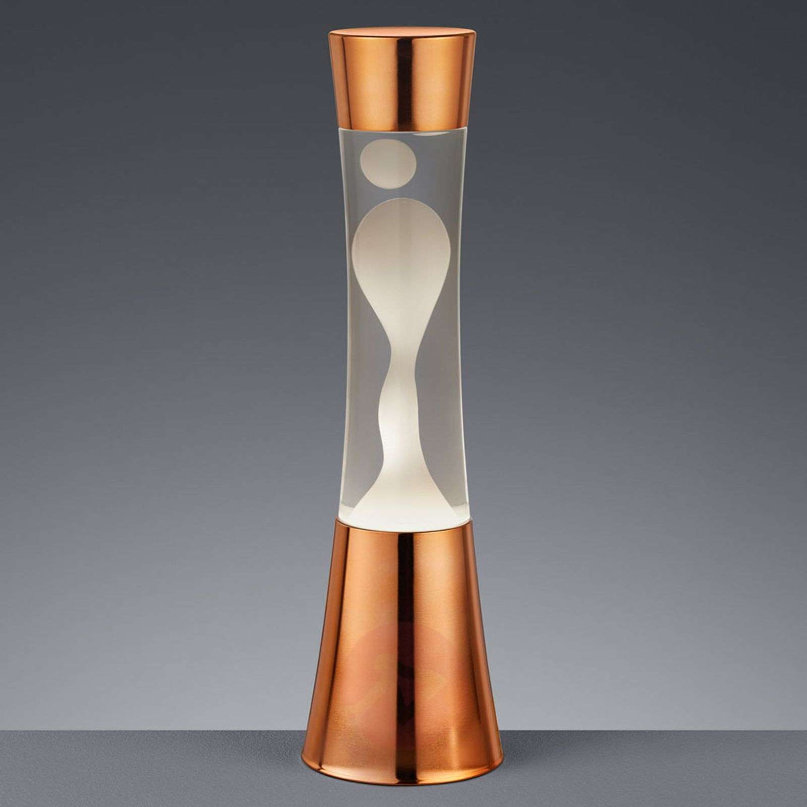 Elegant Irvin Lava Lamp In A Copper Look Lights Ie
