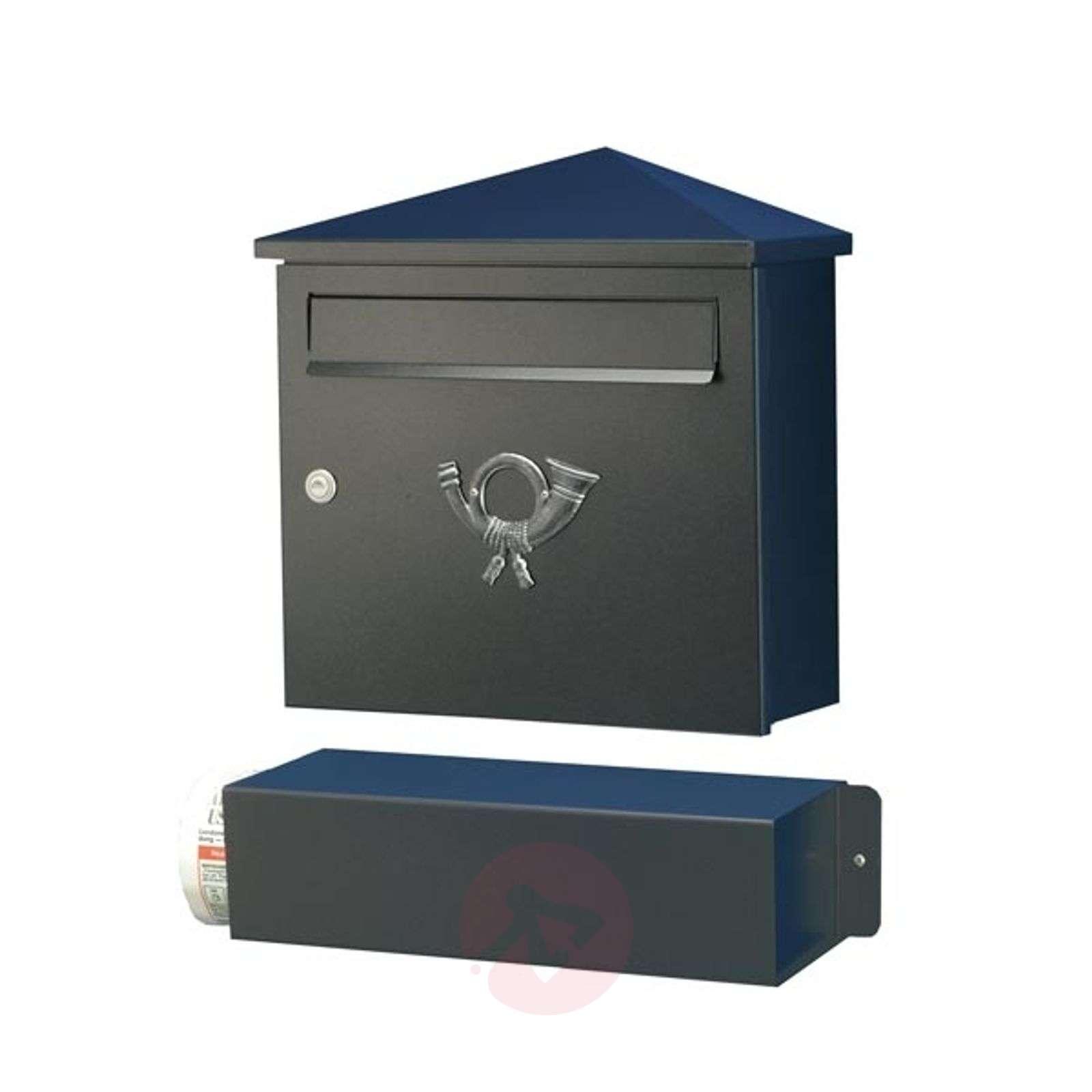 Elegant letterbox LUCIO black-4502073-01
