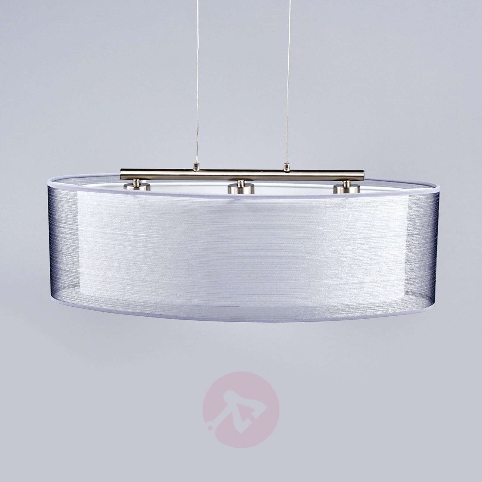Elongated Nica fabric pendant lamp-4018007-03