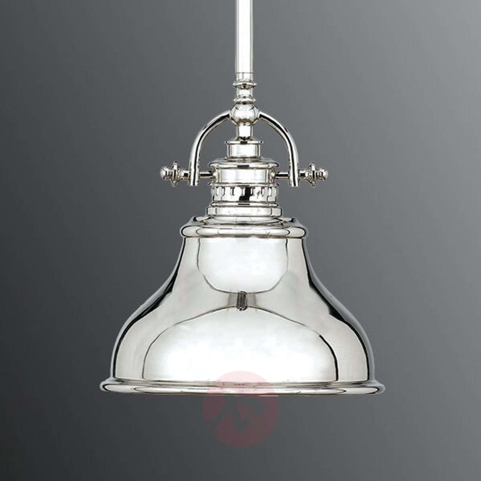 Emery pendant lamp 1-bulb silver 20.3 cm-3048609-01