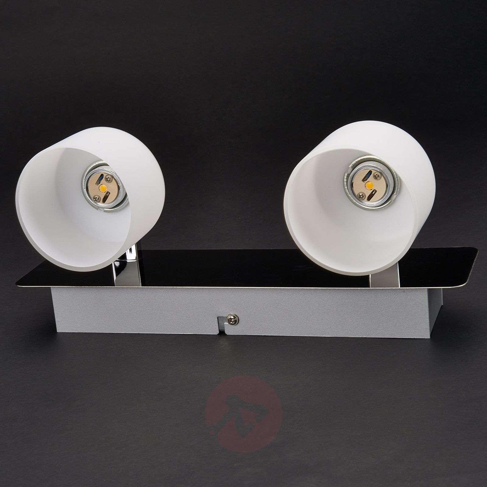 Emira 2-bulb LED wall light-9994044-01