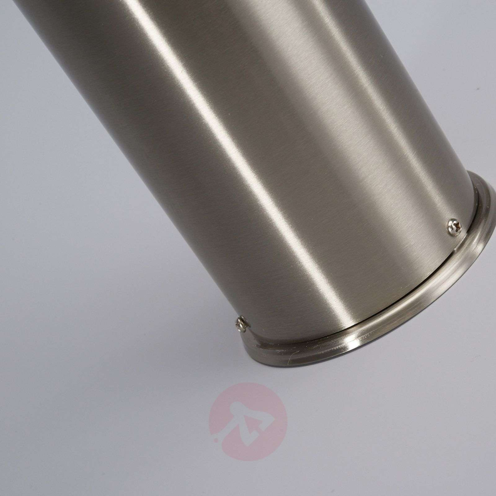 Enja Stainless Steel Pillar Lamp with Fins-9960023-01