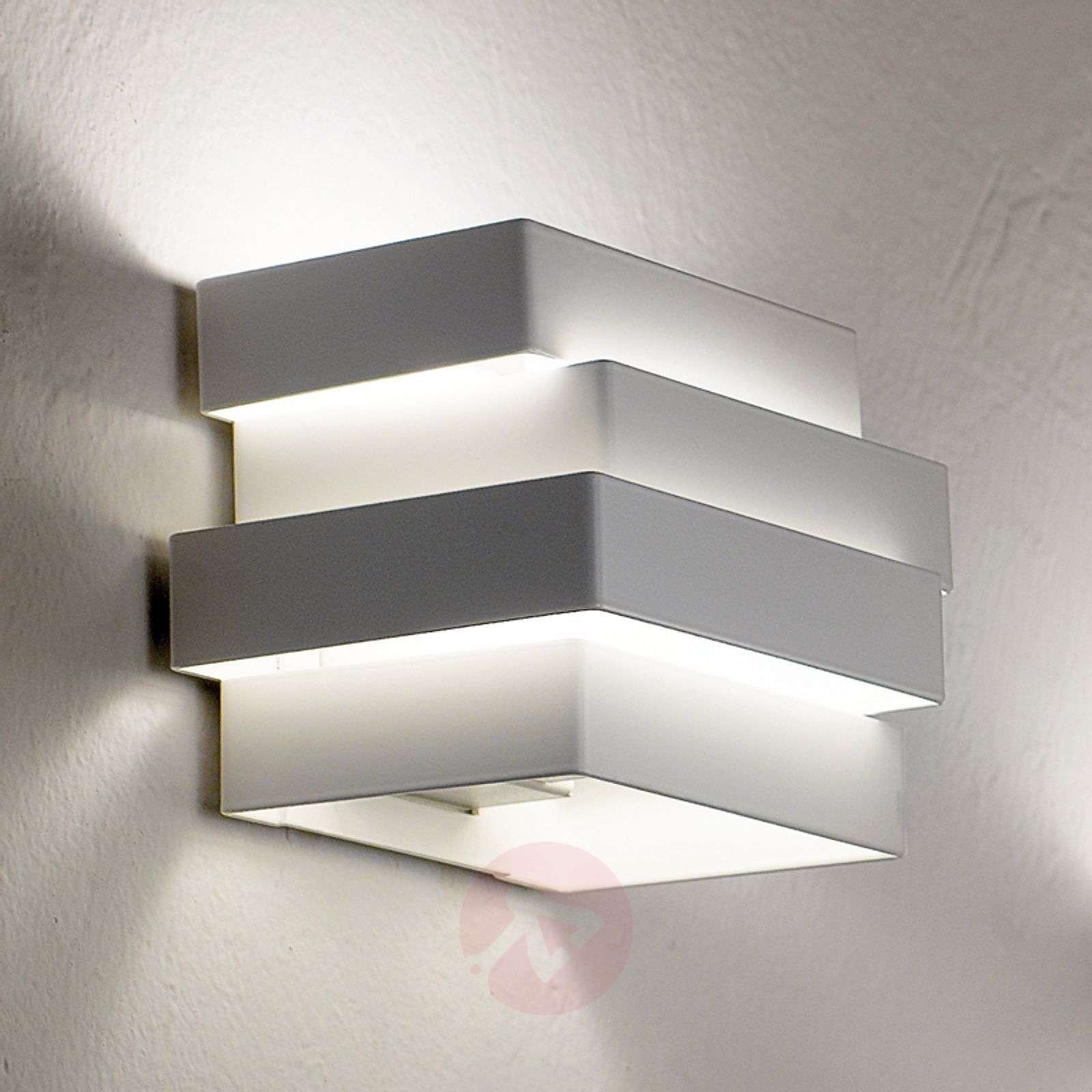 Escape Cube LED wall light, white-5501159-01