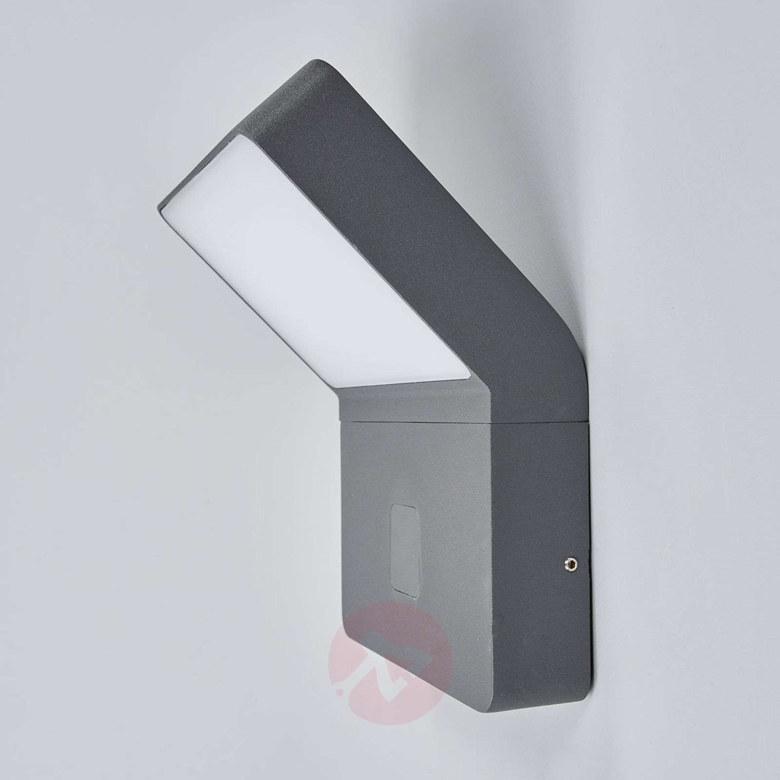 Evelin LED outdoor wall light with sensor-9618106-03