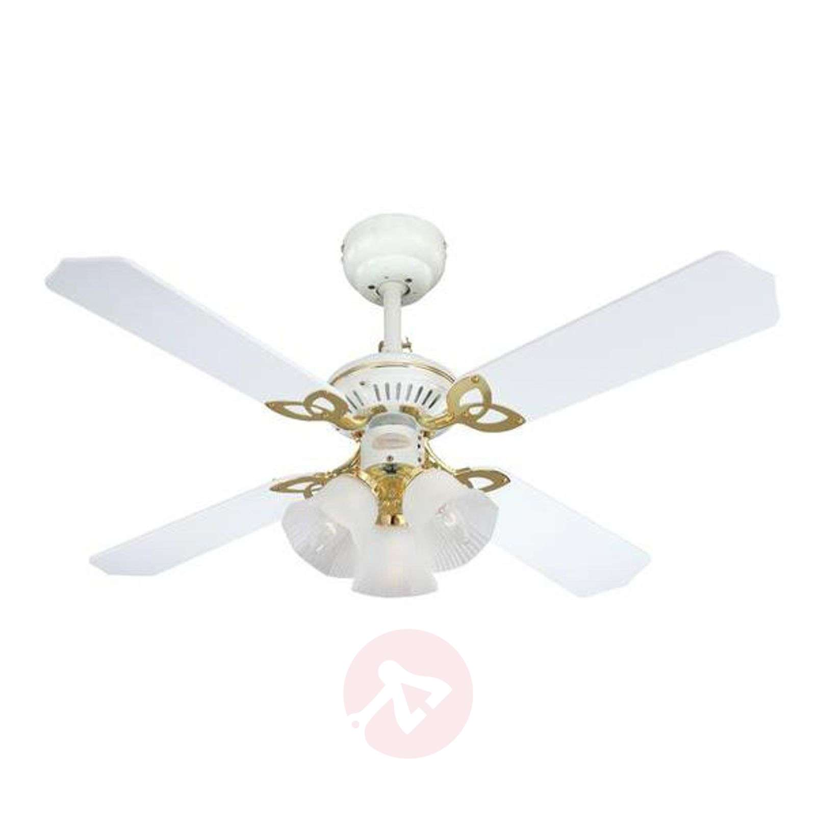 Exclusive Princess Trio ceiling fan in white-9602167-05