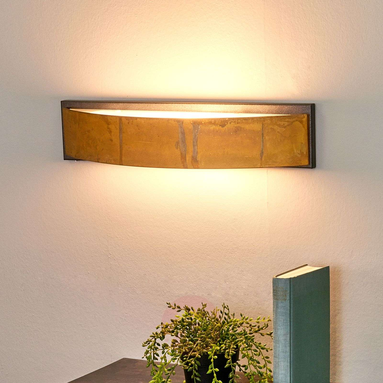 Exclusive wall lamp LOLA brown-4011105-08
