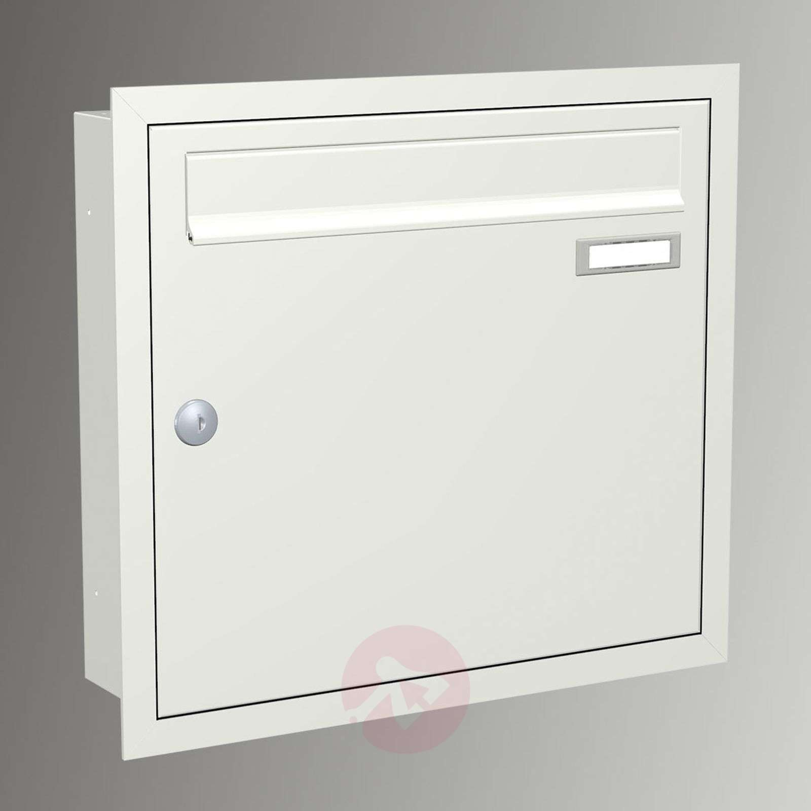Express Box Up 110 flush-mounted letterbox white-5540031-01