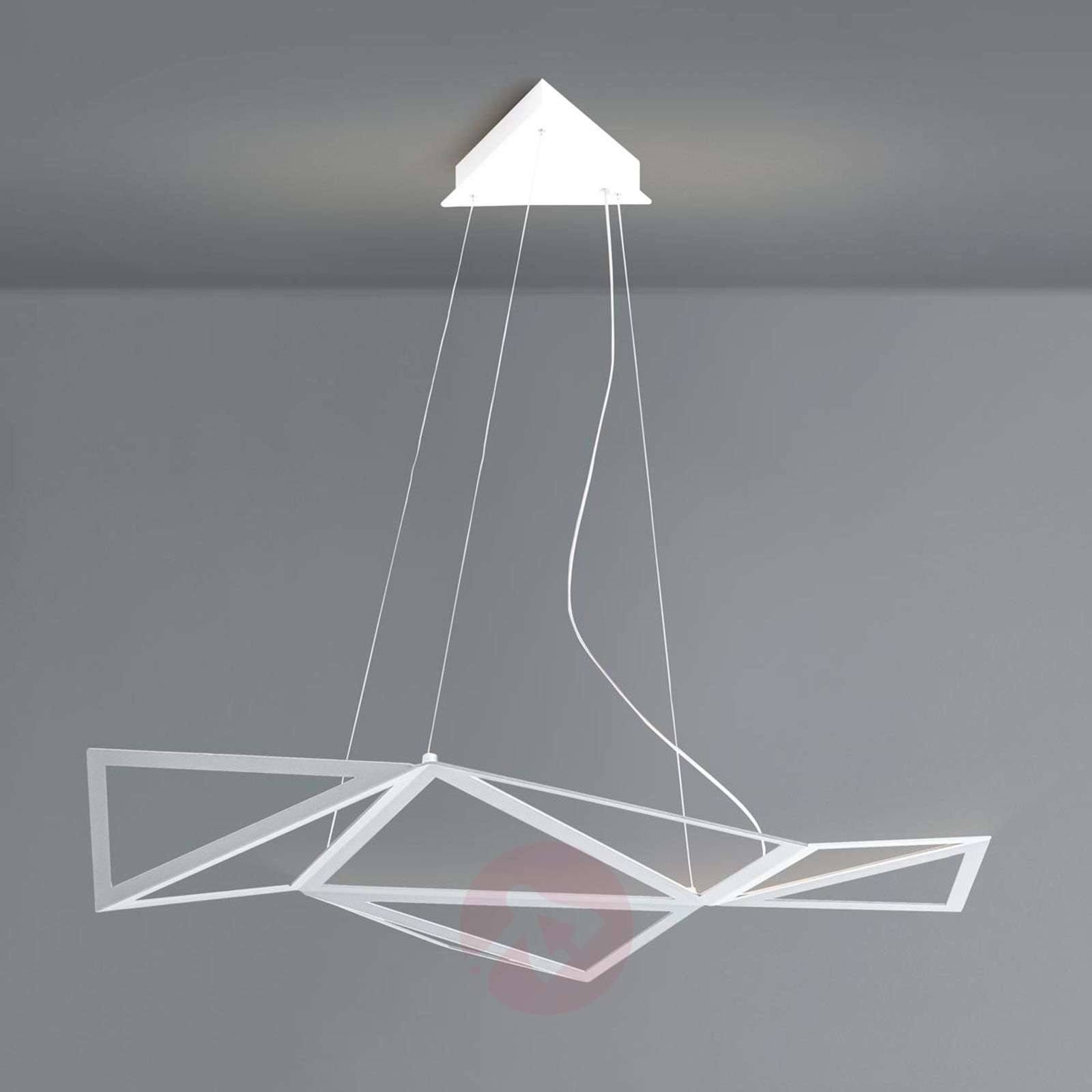 Exquisite LED pendant light Starlight in white-5501122-01