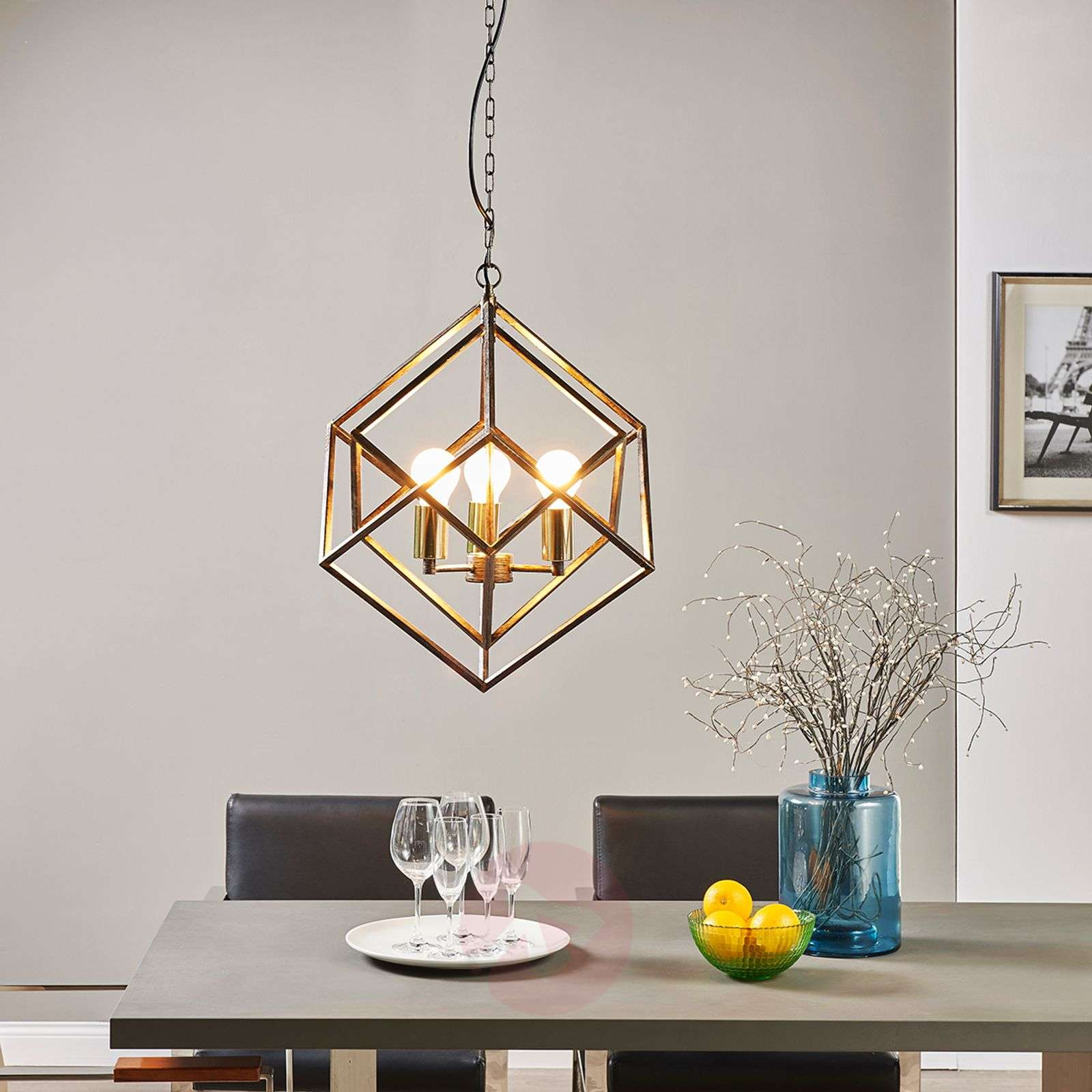 Extraordinary hanging lamp Lorenza-9620906-03