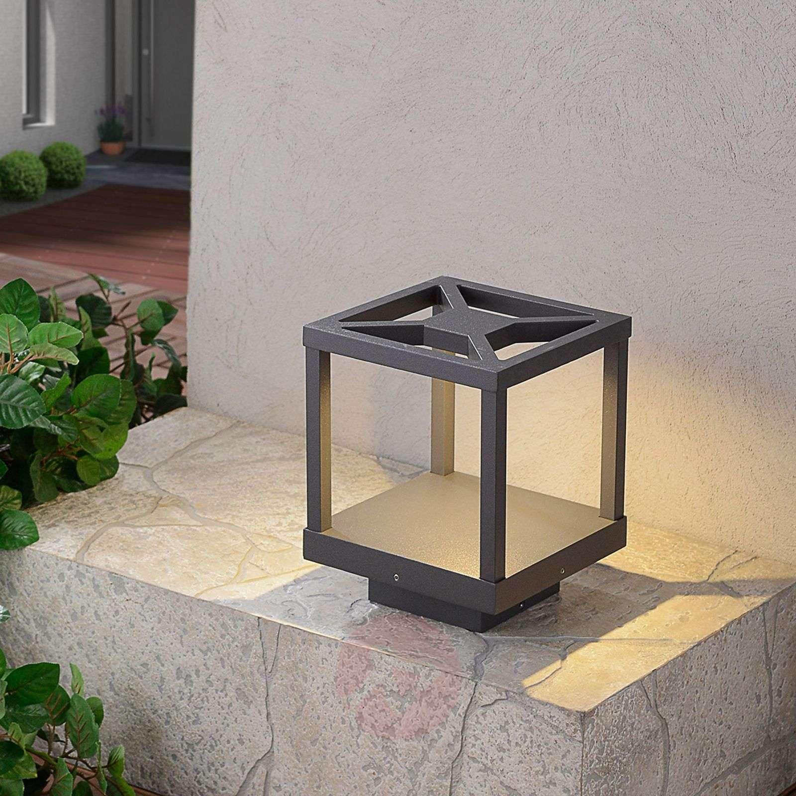 Extravagant LED pillar light Lealand-9618058-01