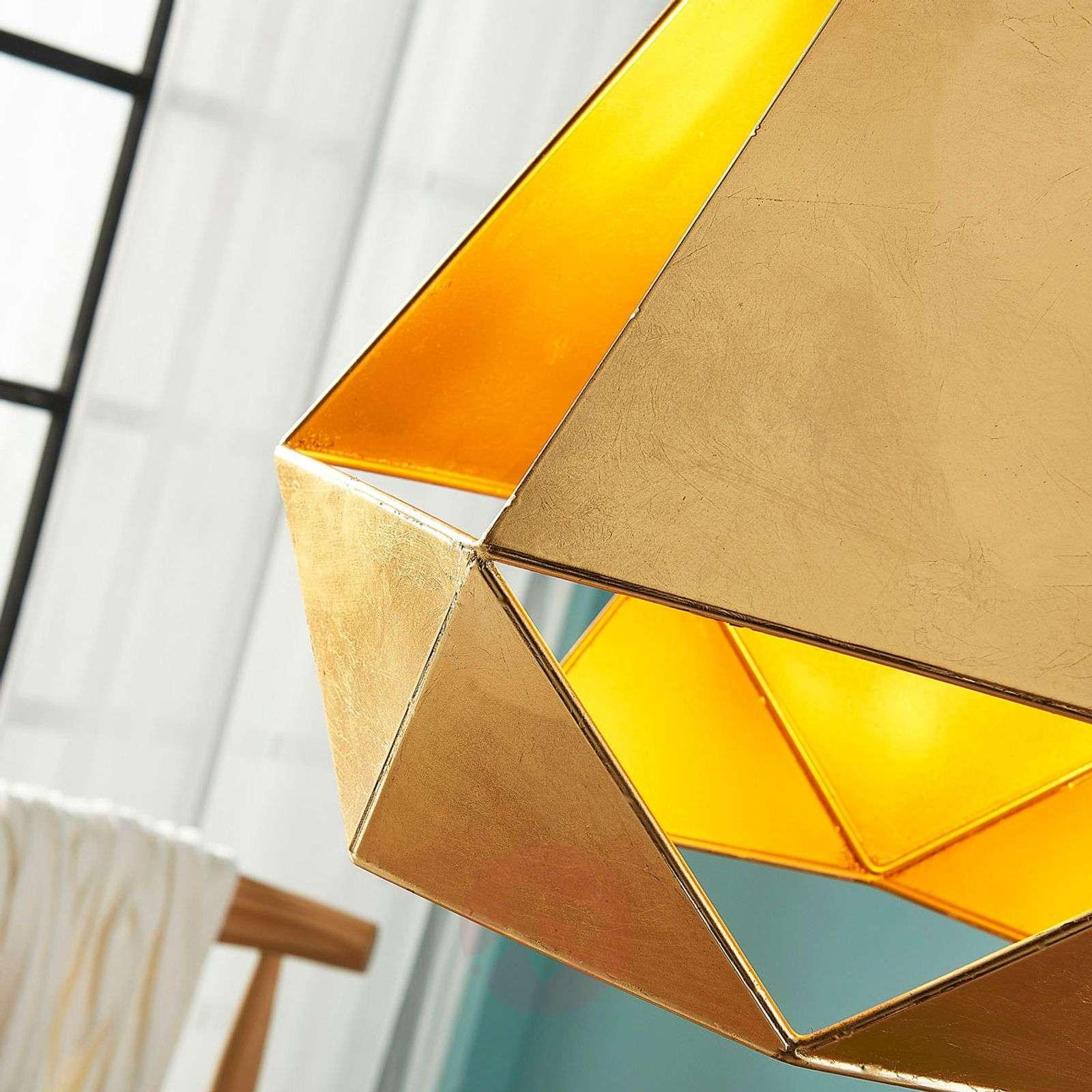 Extravagant pendant lamp Juliet in gold-9621365-02