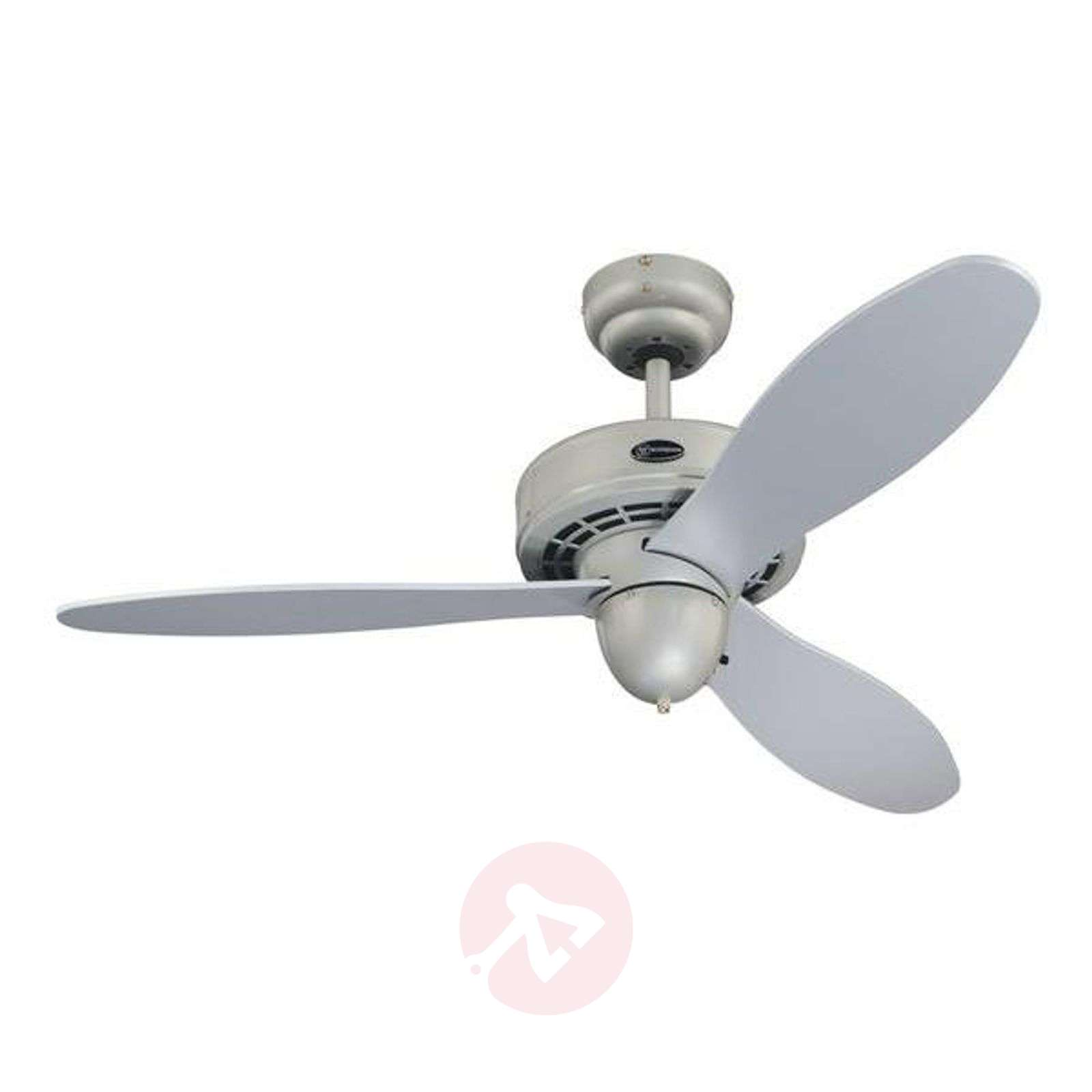 Extremely quiet silver Airplane ceiling fan-9602038-02