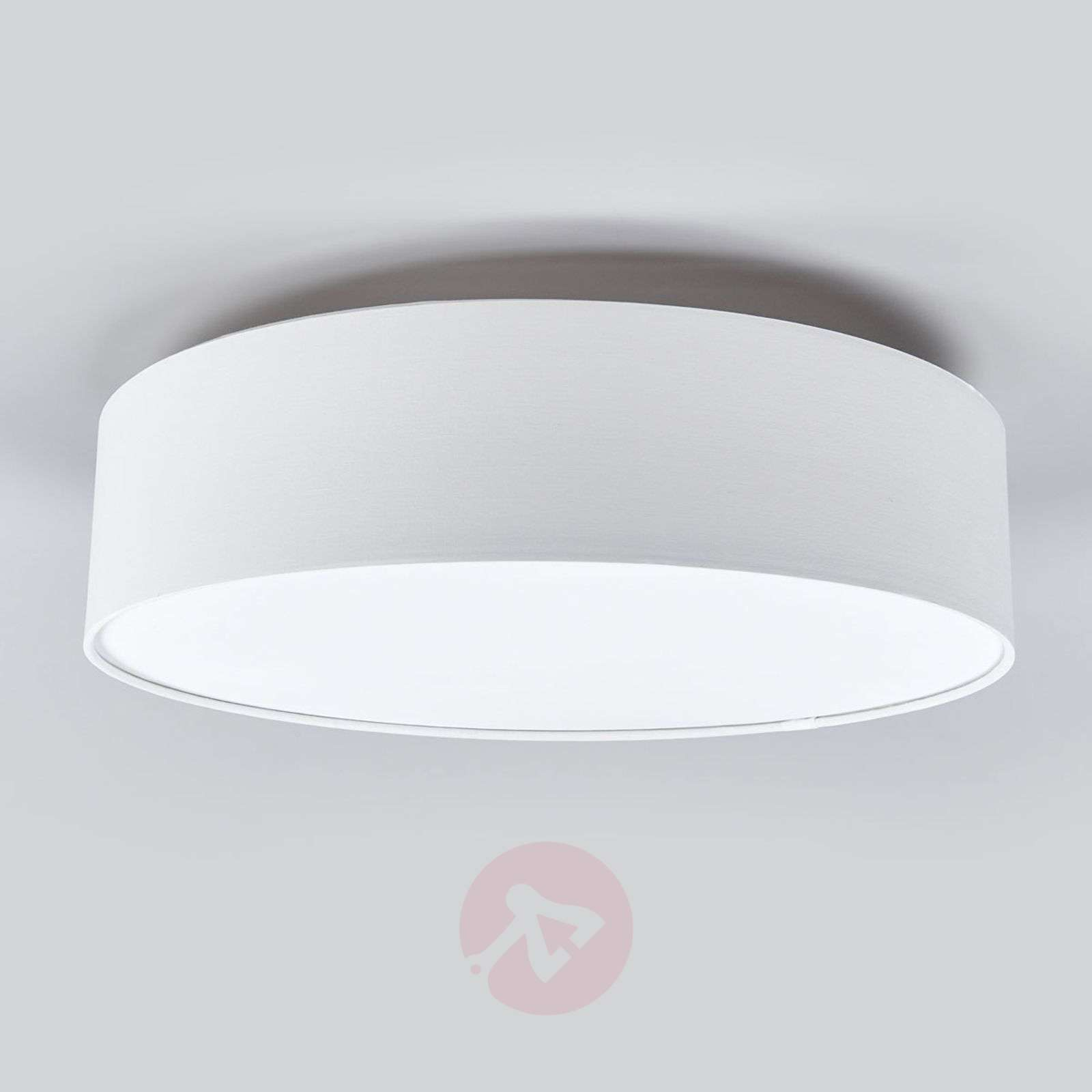 Fabric-covered ceiling light Risa-9004557-04