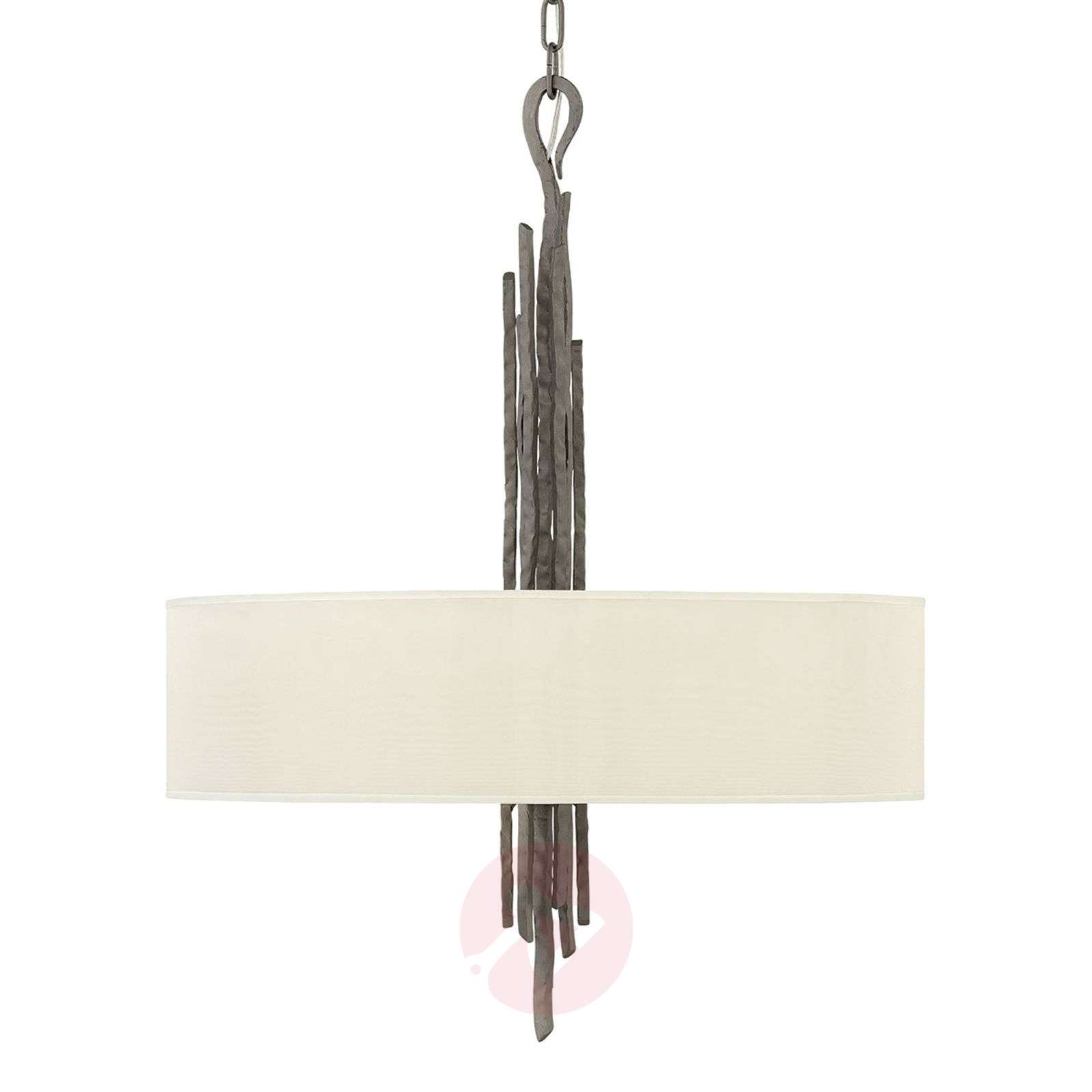 Fabric hanging light Spyre, anthracite-3048924-01