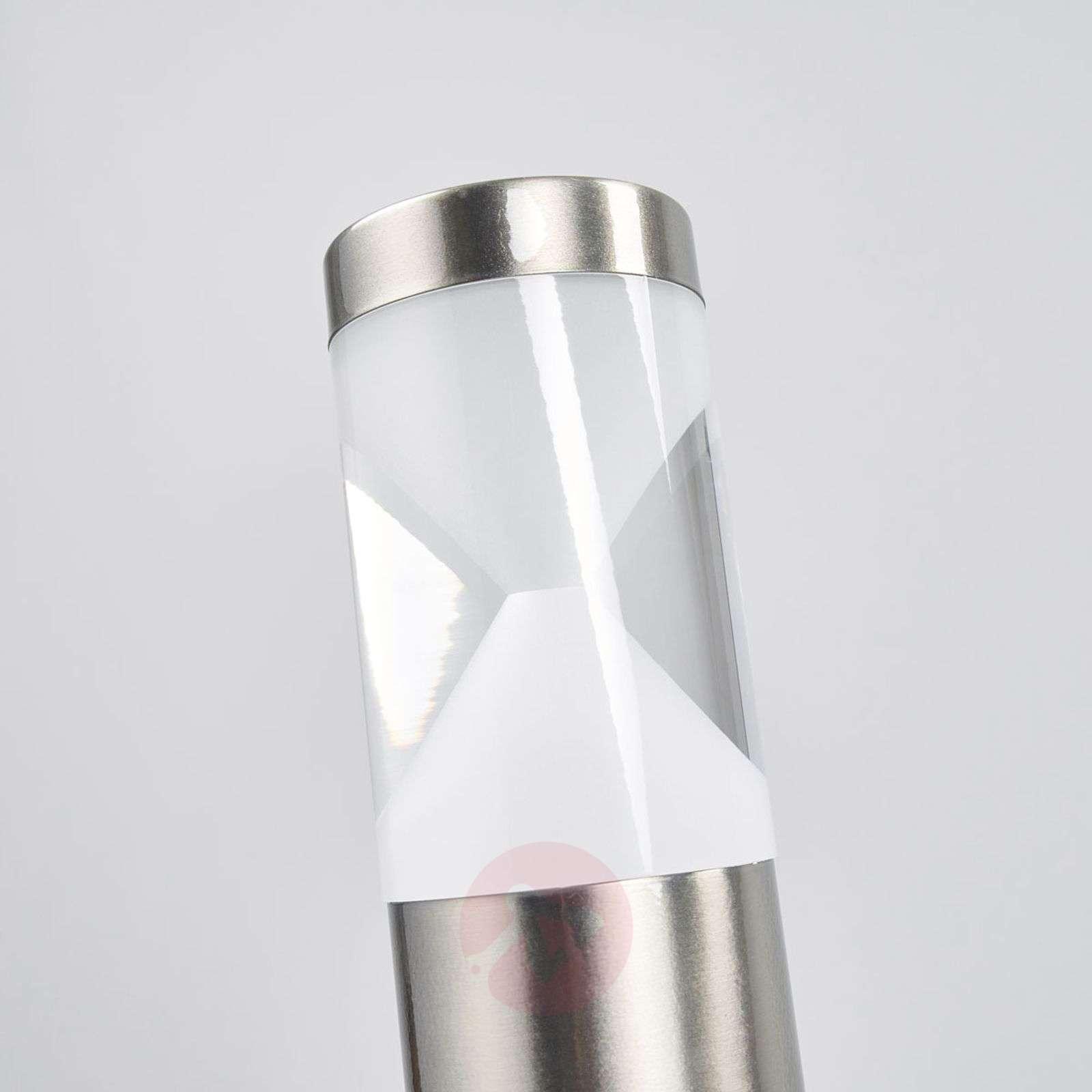 Fabrizio bollard lamp with LEDs and motion sensor-9988156-01