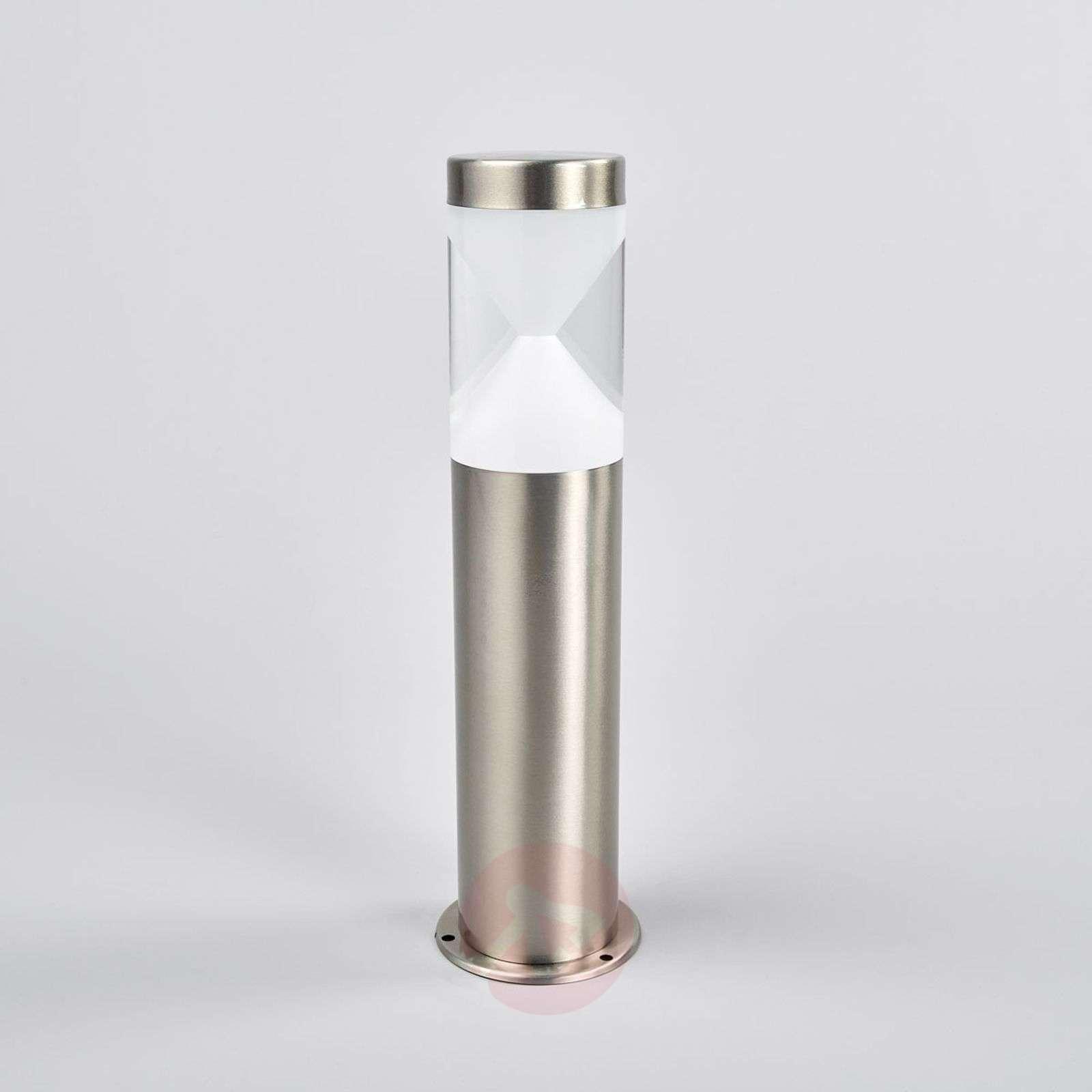 Fabrizio LED pillar lamp with hourglass look-9988153-01