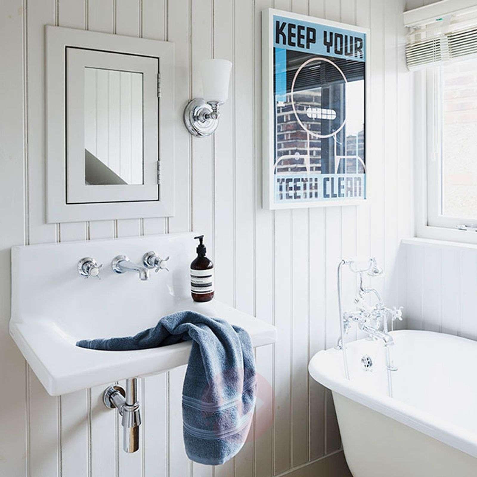 Fascinating bathroom wall light Huguenot Lake-3048640-02