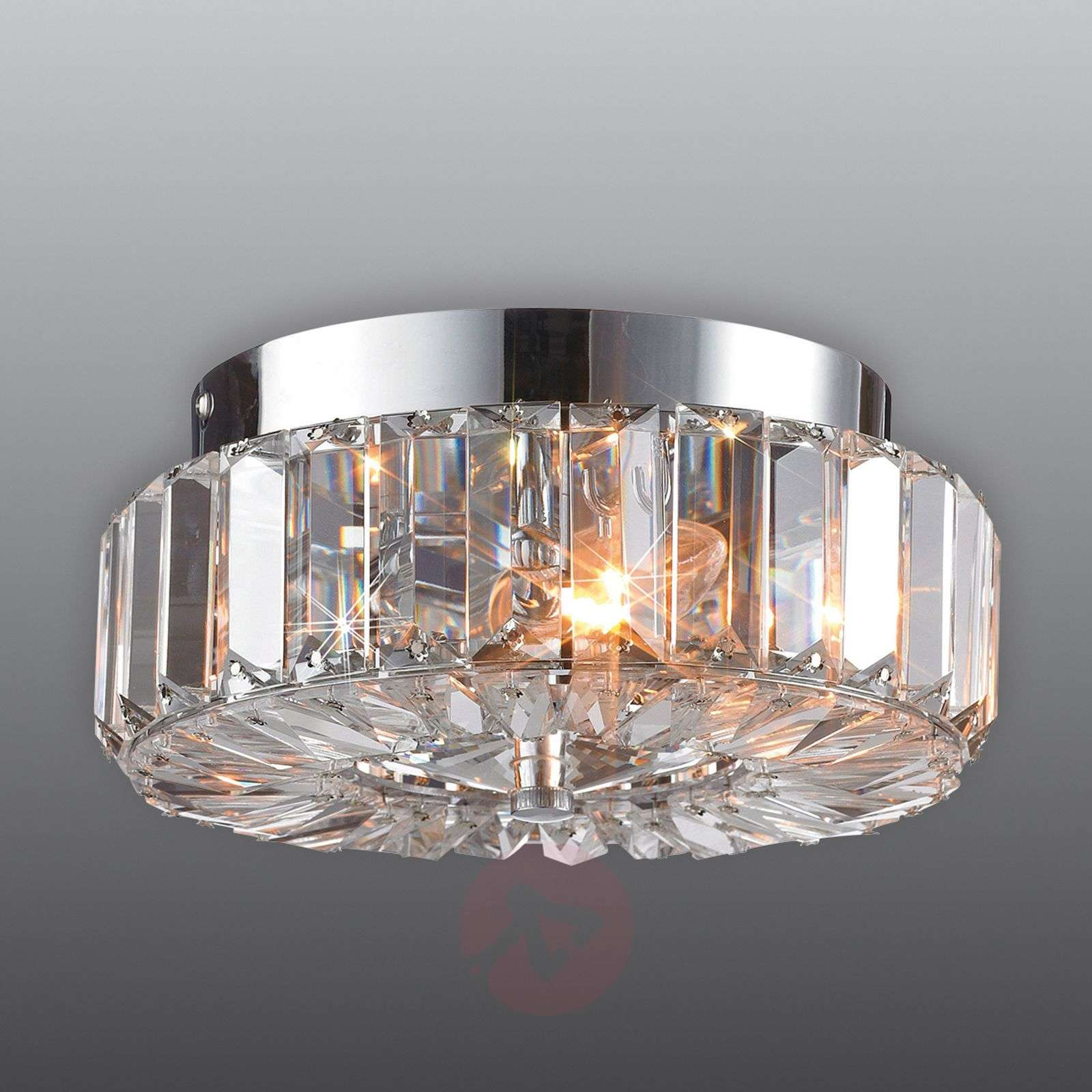 Fascinating ULRIKSDAL ceiling light with crystal-6505475-01