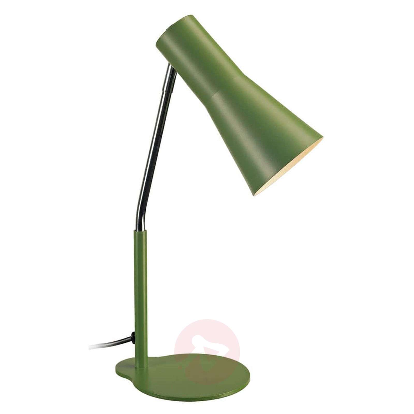 desk sage chairish vintage green tole product lamp