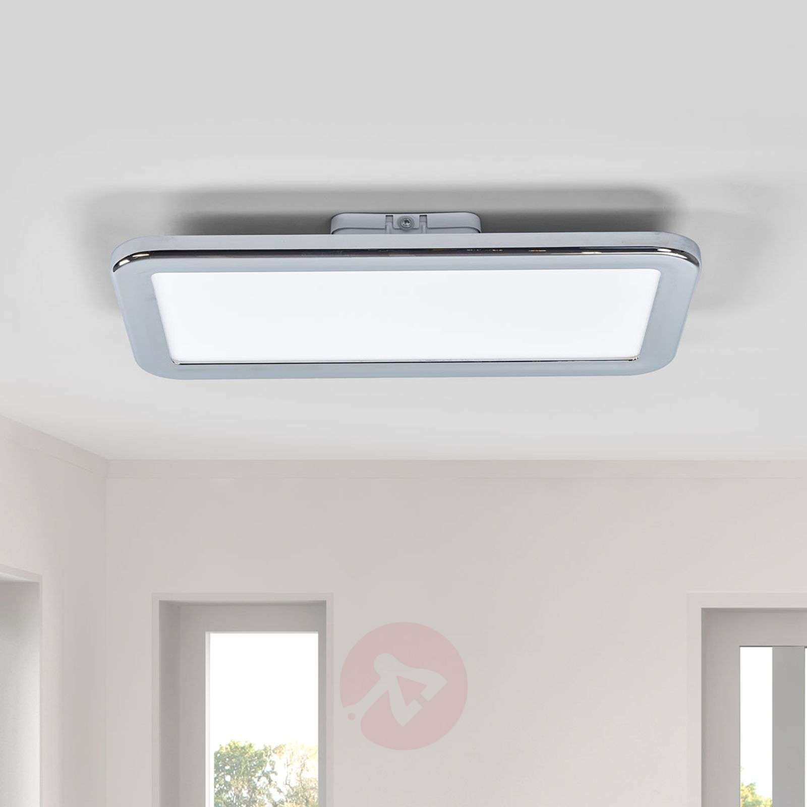 Filina chrome LED bathroom ceiling light, Easydim-1558103-01