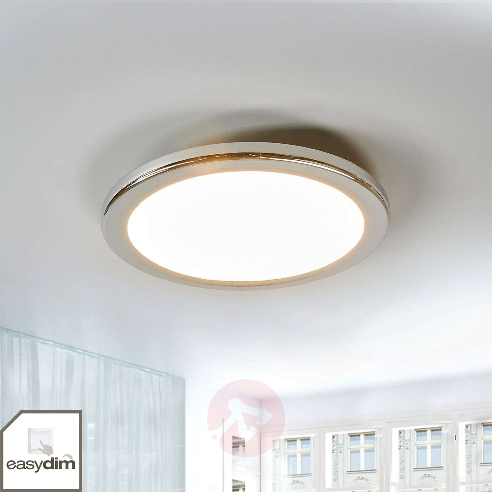 Filina round LED ceiling lamp, dimmable by switch-1558104-01