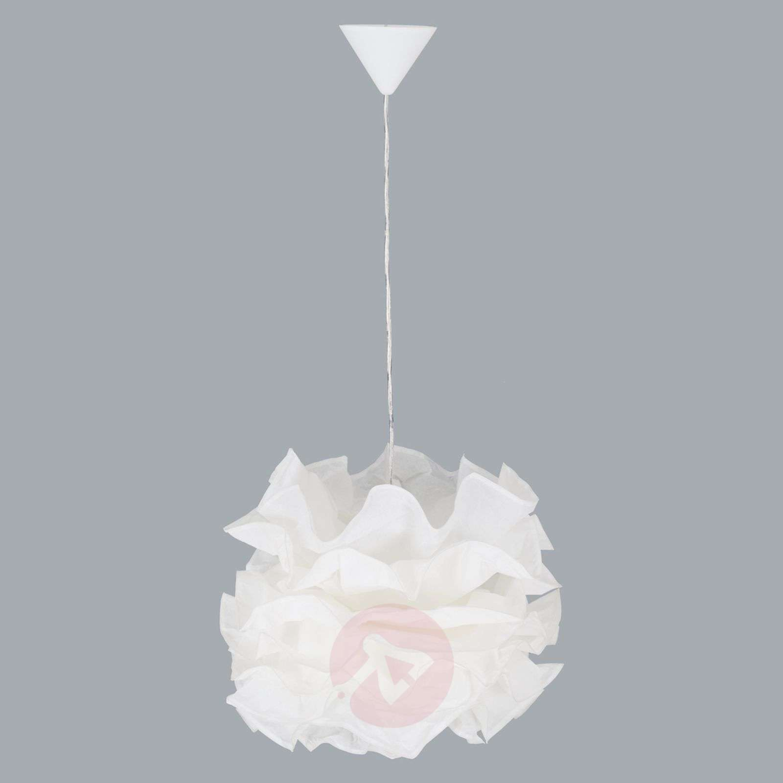 Fiona Pendant Light With Ruched Lampshade Lights Ie