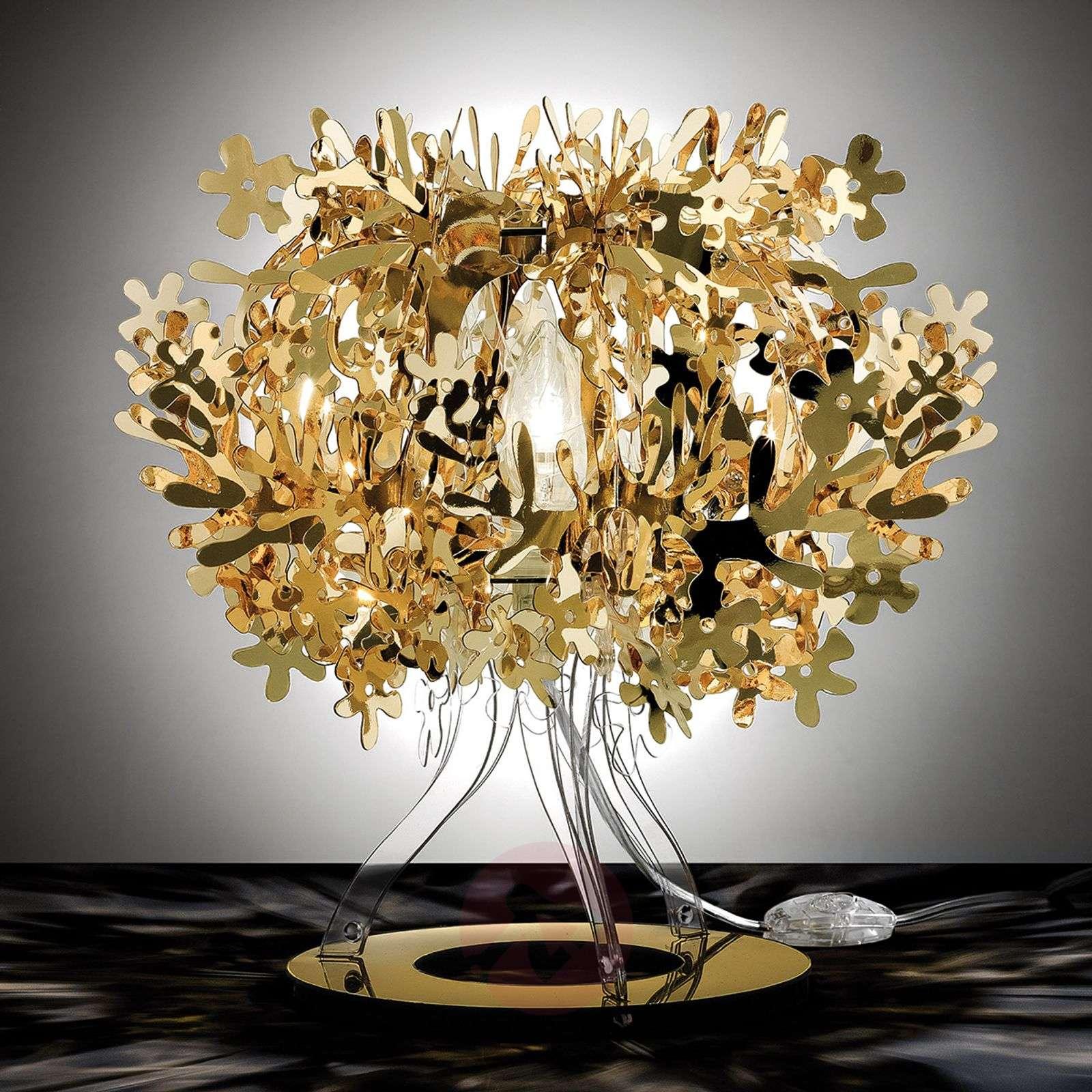 Fiorellina designer table lamp in gold-8503246-01