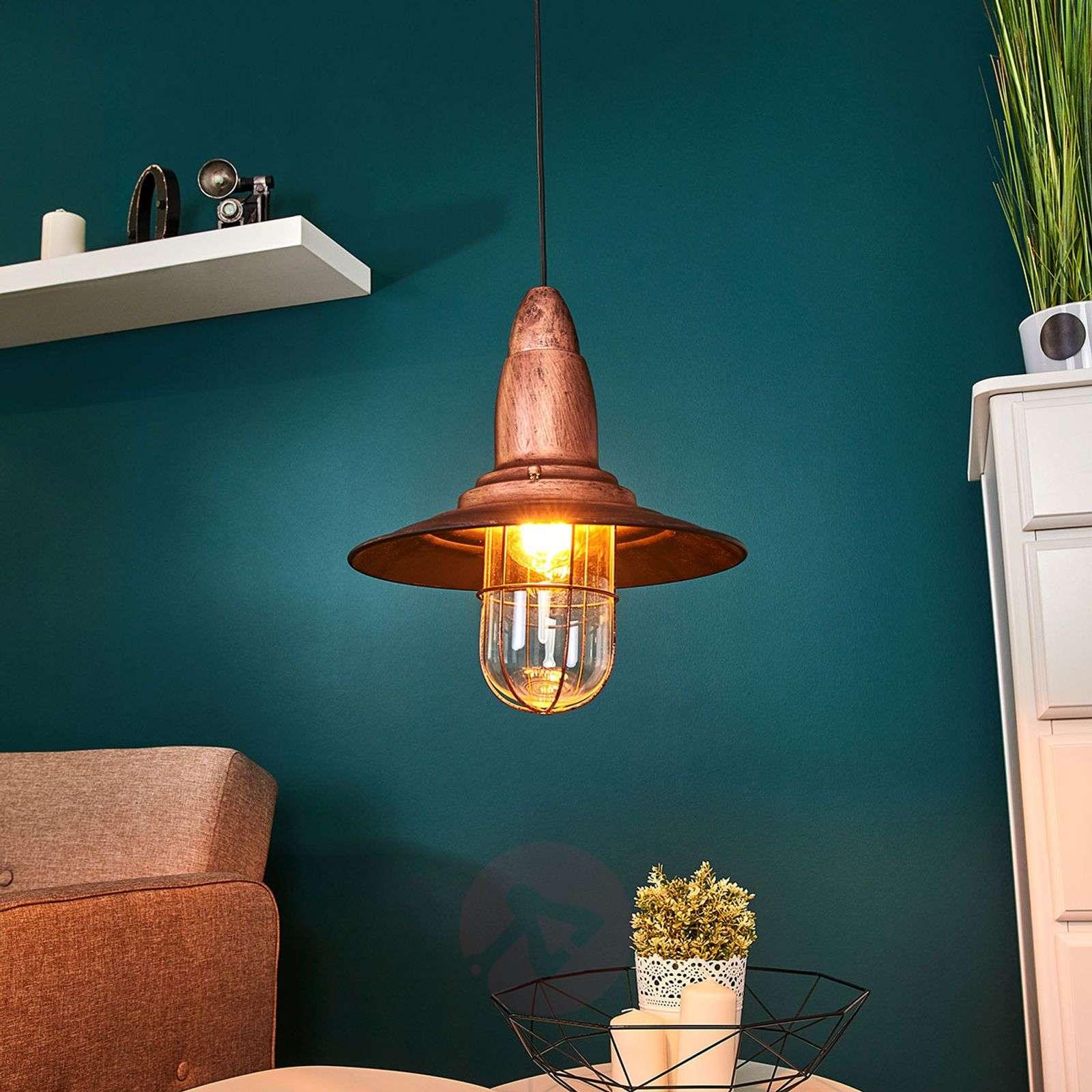 antique pendant lights. Fisherman Pendant Light W/ Antique Copper Finish-9005097-01 Lights L