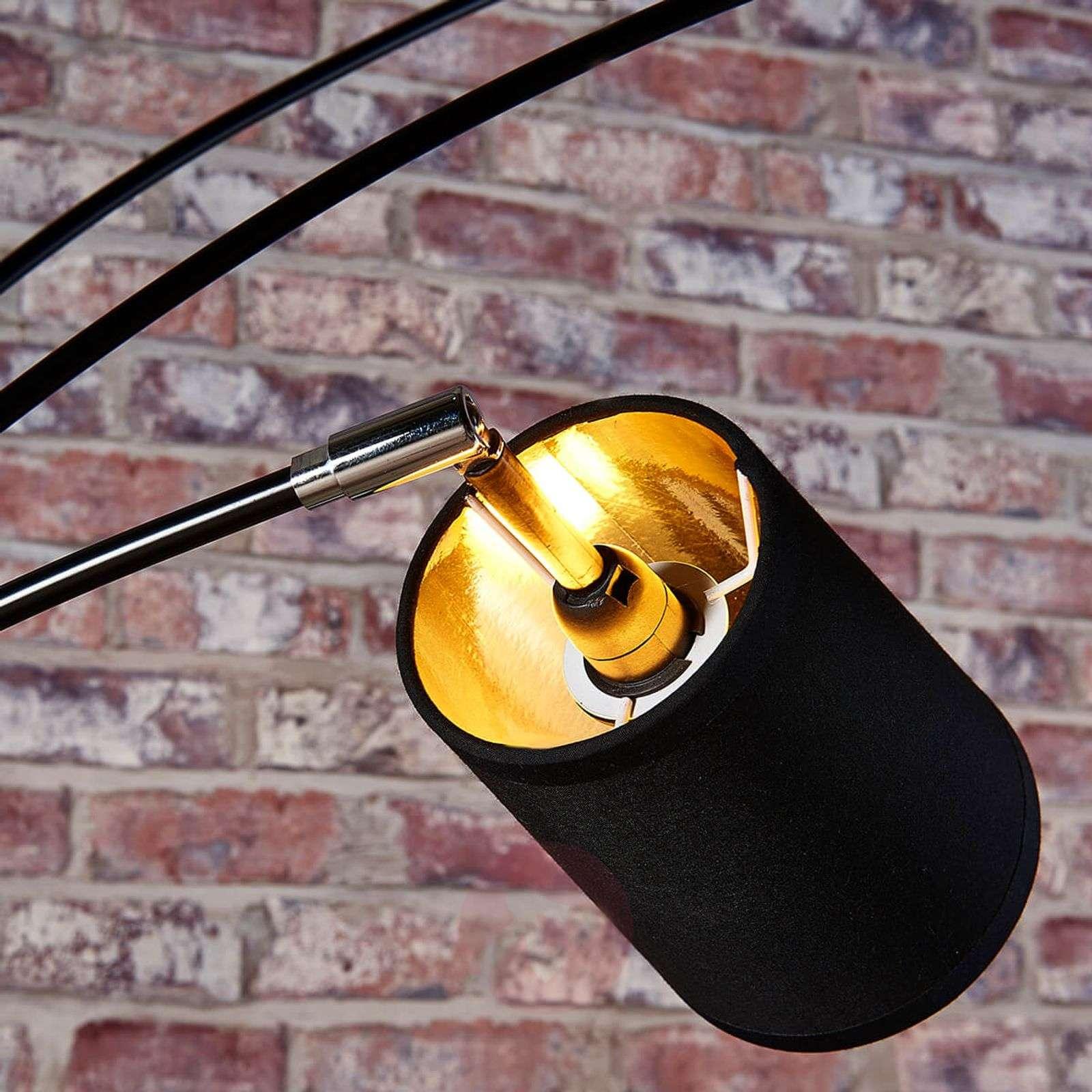 Five-bulb fabric floor lamp Tinne-9621226-02
