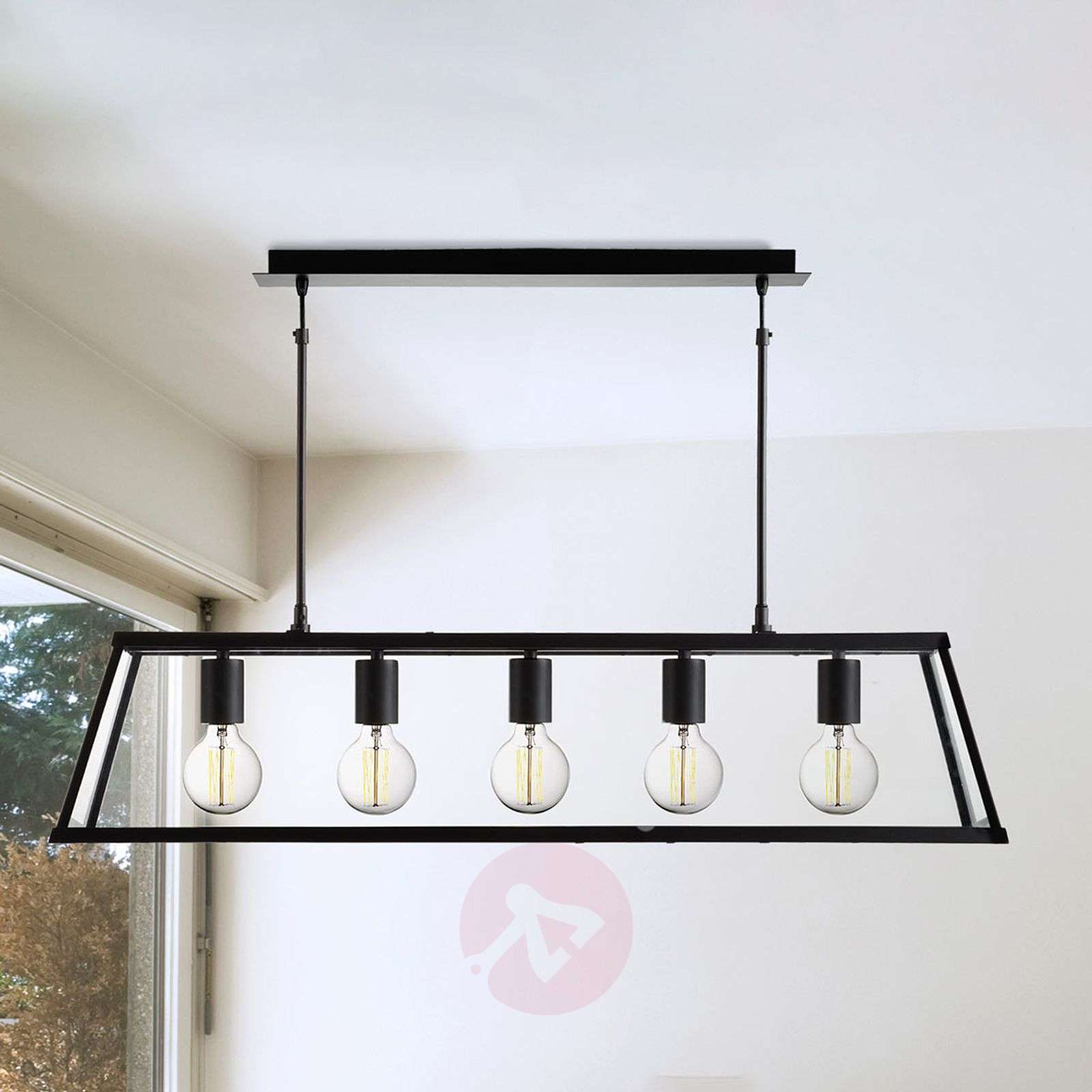 Five-bulb lantern pendant light Voyager-8573005-01