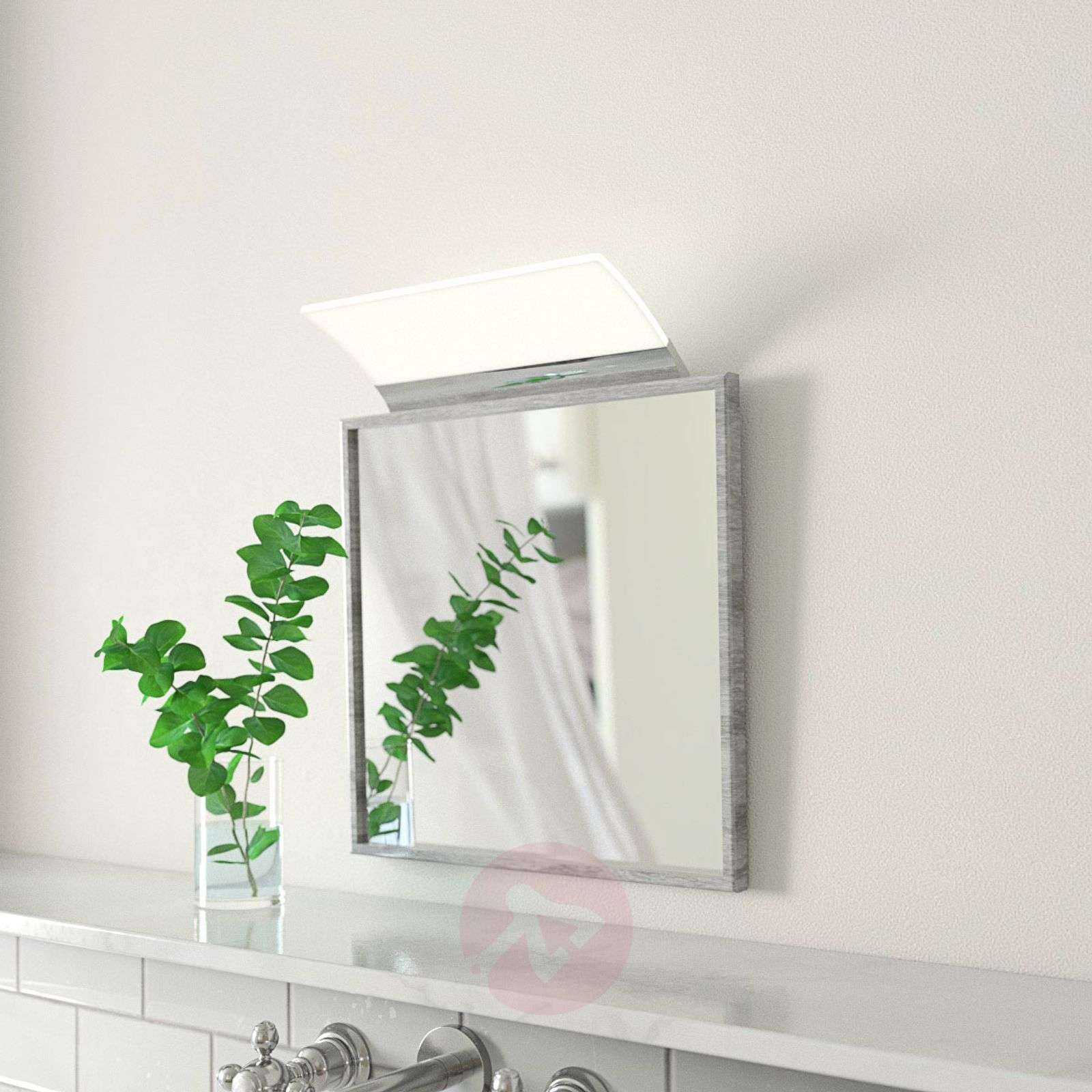 Flat LED mirror light Angela, IP44, 16 cm-3052053-01
