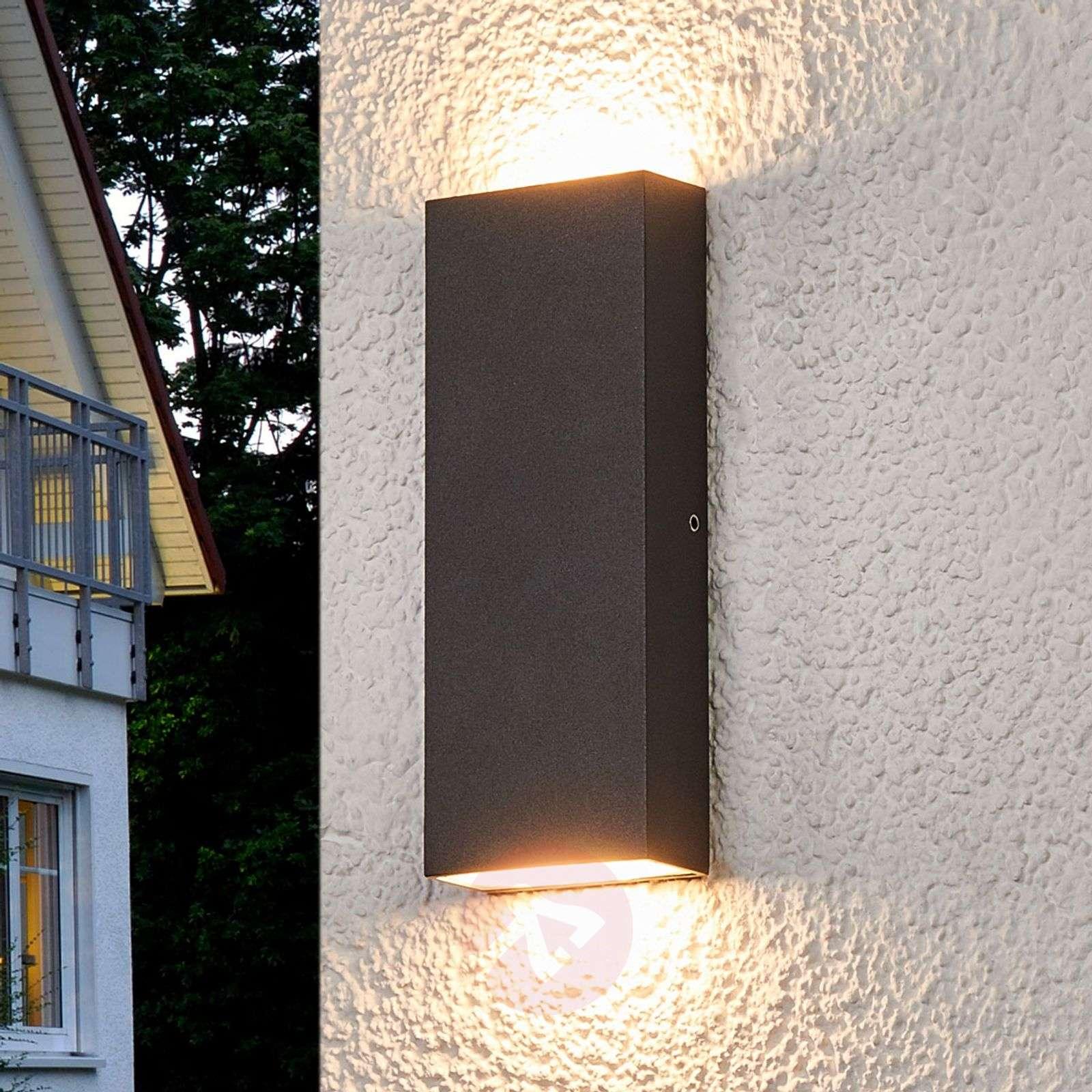 flat led outdoor wall lamp corda lightsie
