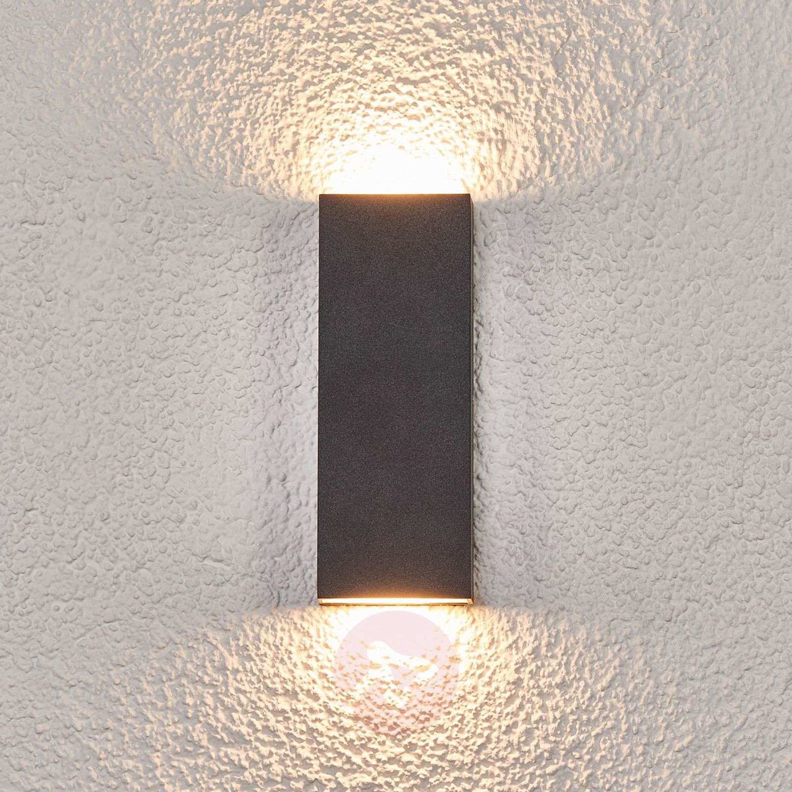 Flat Led Outdoor Wall Lamp Corda 9969040 02