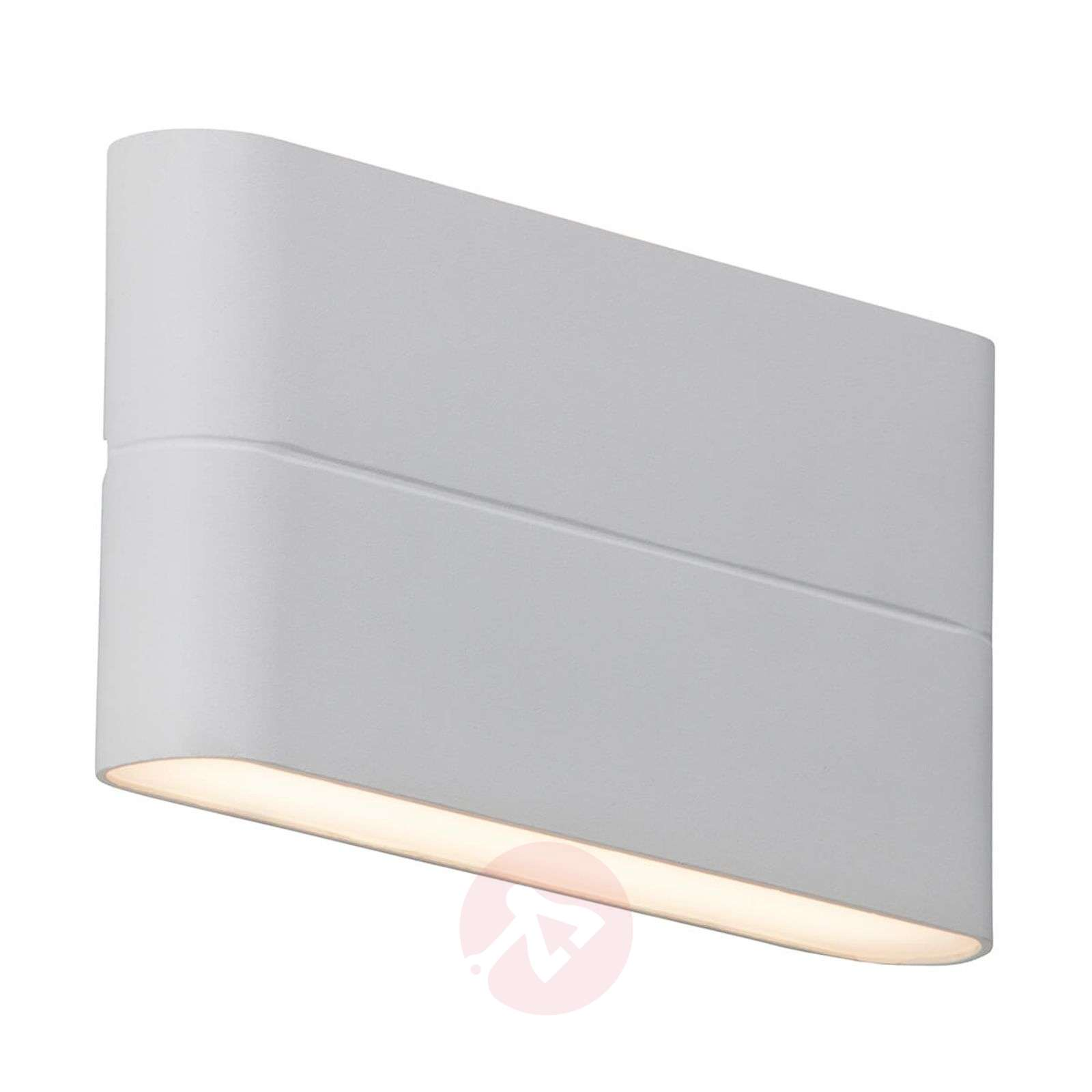 Flat Telesta Led Outdoor Wall Light In White Lights Ie