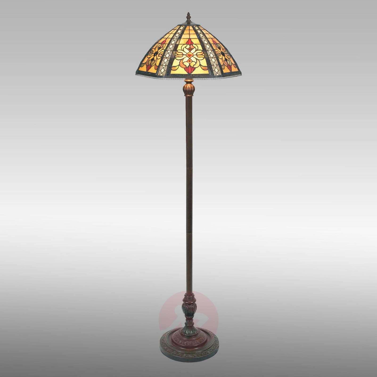 Floor lamp Despina, Tiffany style-1032146-02
