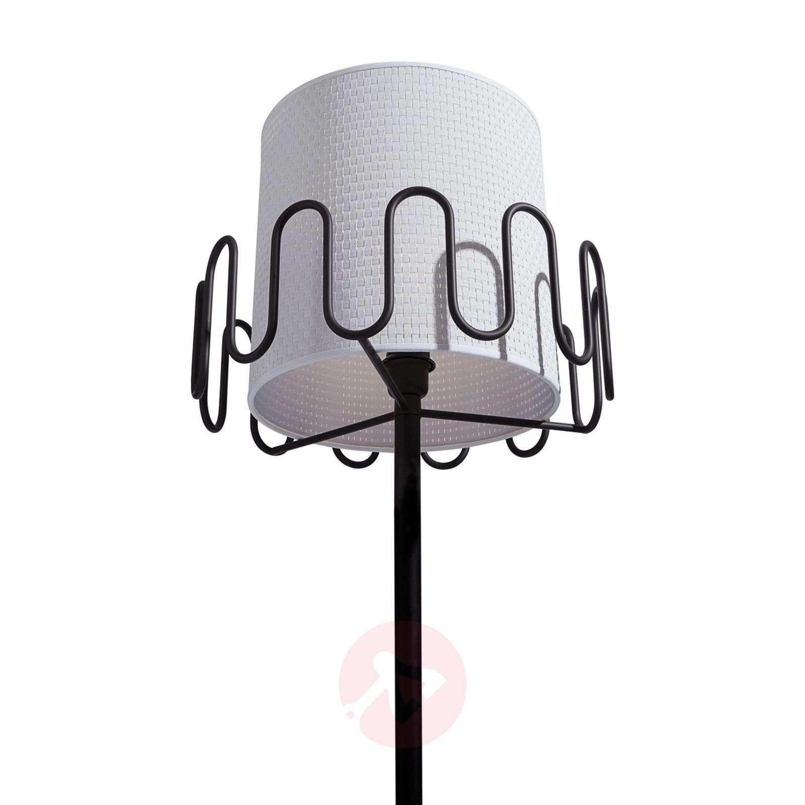 Floor lamp Frilly with coat hooks-9036007-01